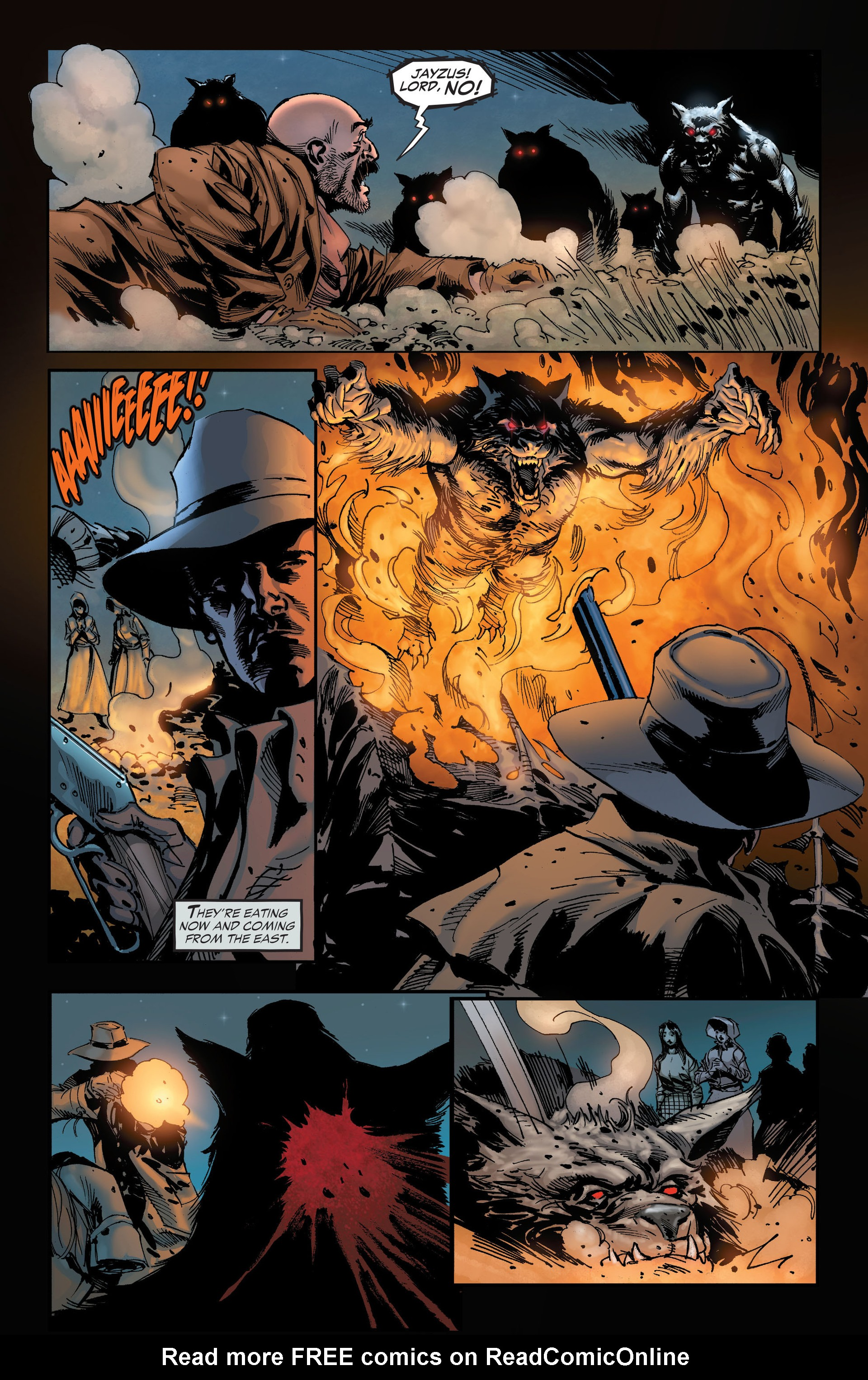 Read online All-Star Western (2011) comic -  Issue #19 - 27