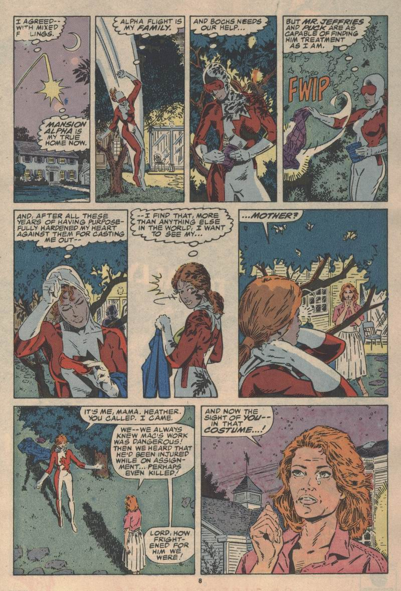 Read online Alpha Flight (1983) comic -  Issue #47 - 9