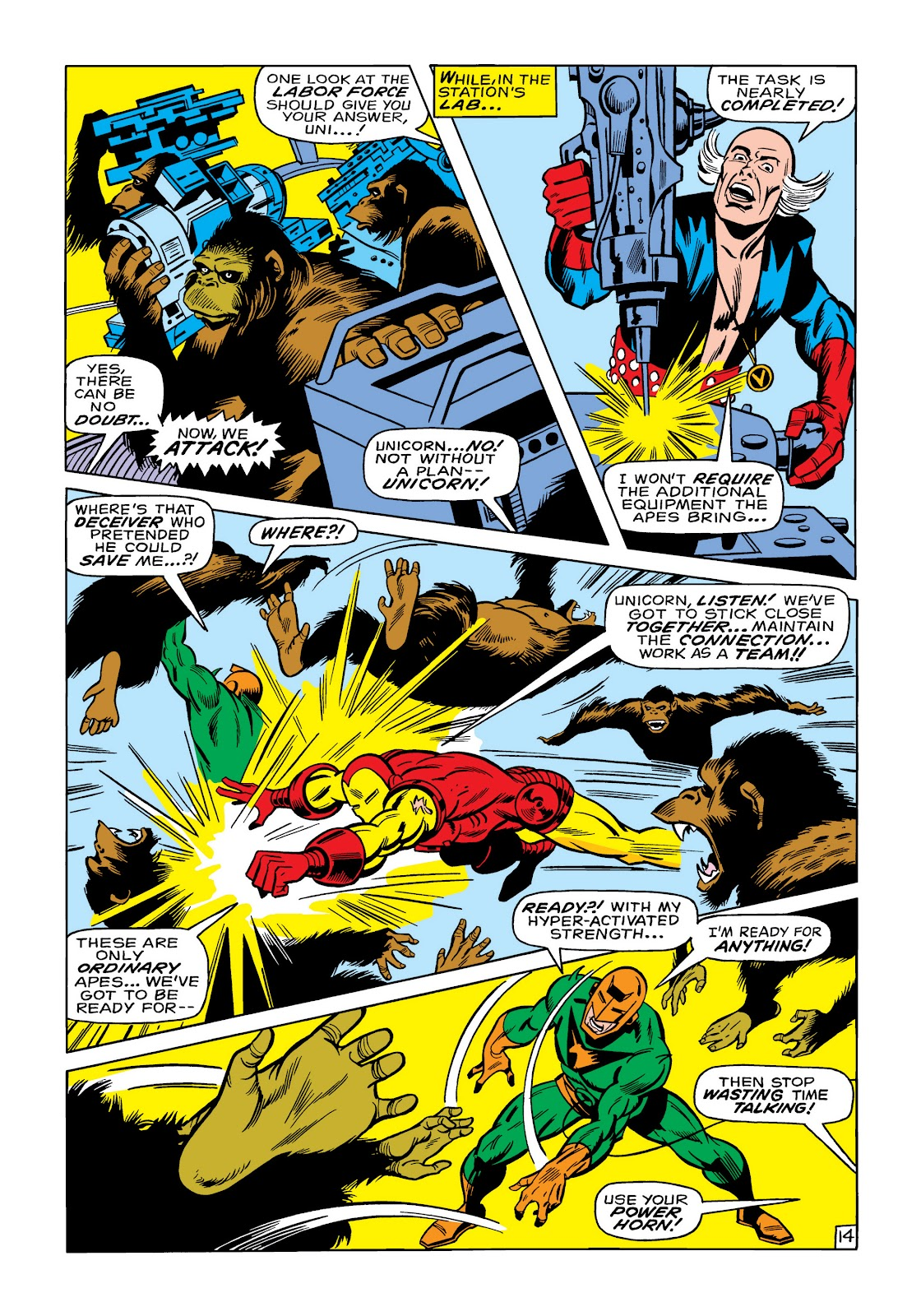 Read online Marvel Masterworks: The Invincible Iron Man comic -  Issue # TPB 6 (Part 1) - 62