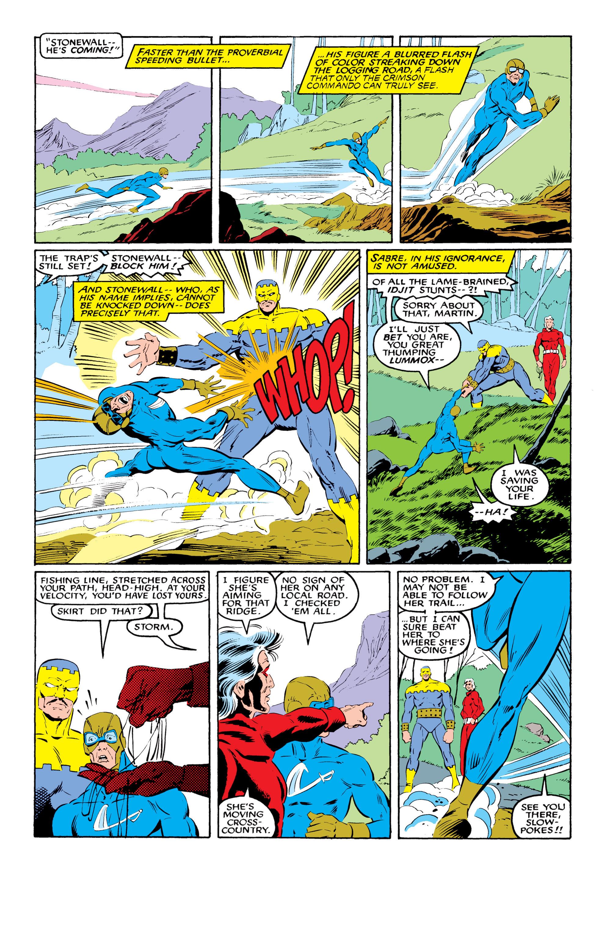 Read online Uncanny X-Men (1963) comic -  Issue #216 - 12