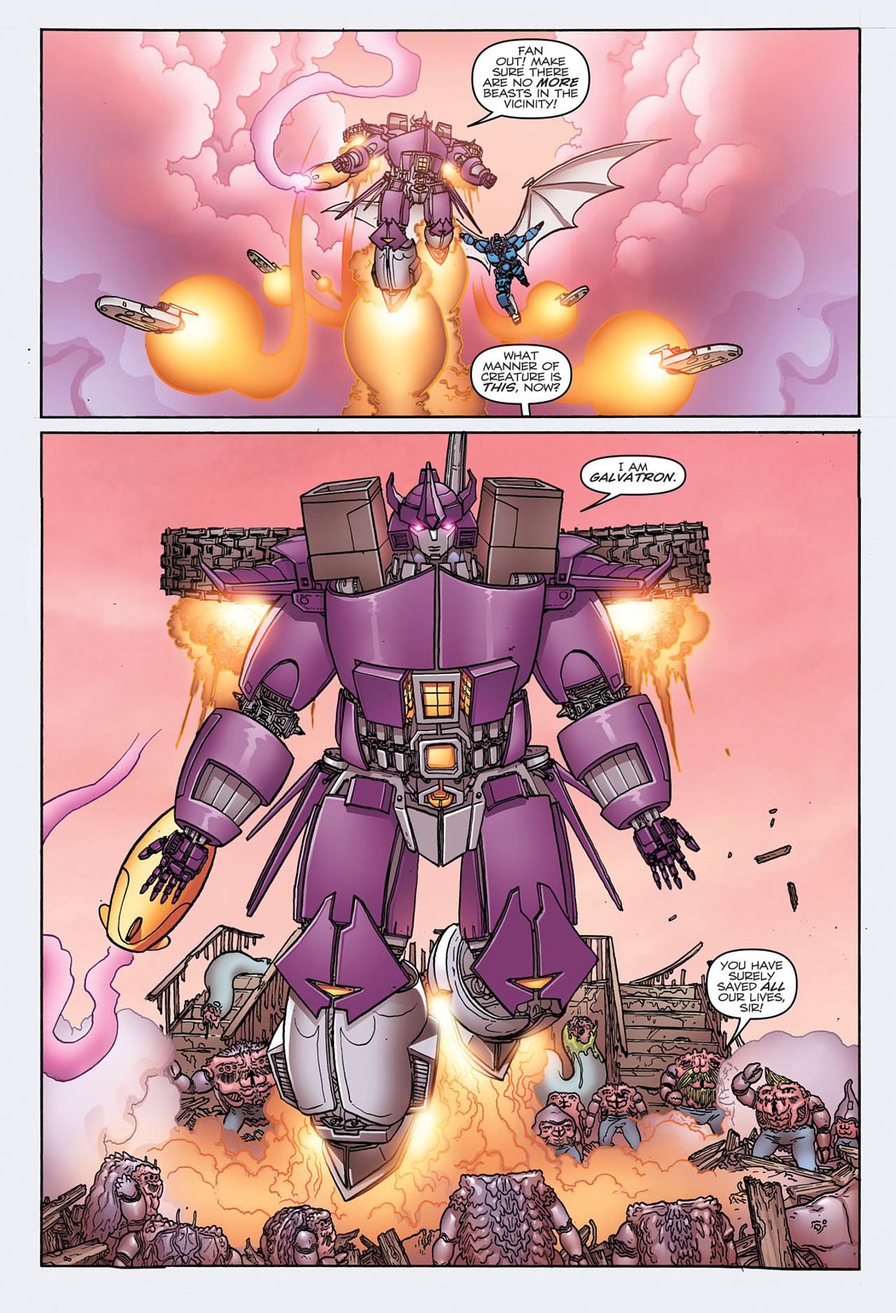 Read online Transformers: Heart of Darkness comic -  Issue #3 - 10