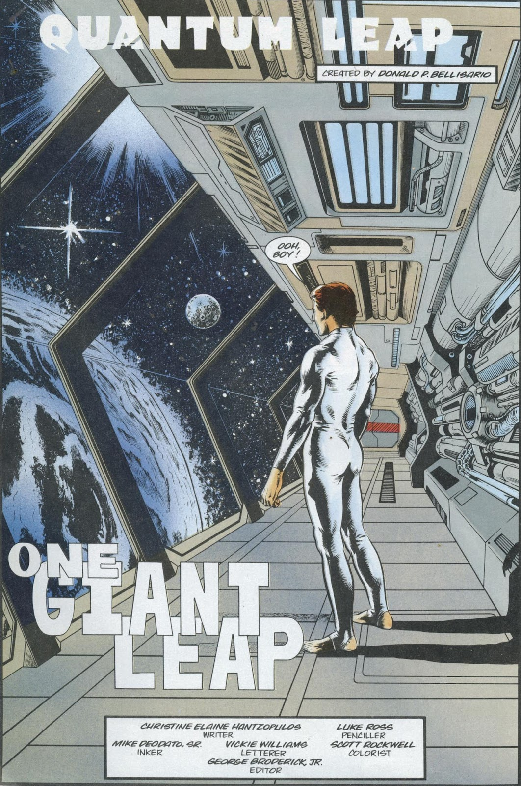 Read online Quantum Leap comic -  Issue #13 - 26