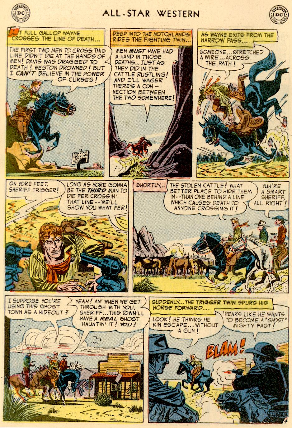 Read online All-Star Western (1951) comic -  Issue #73 - 6