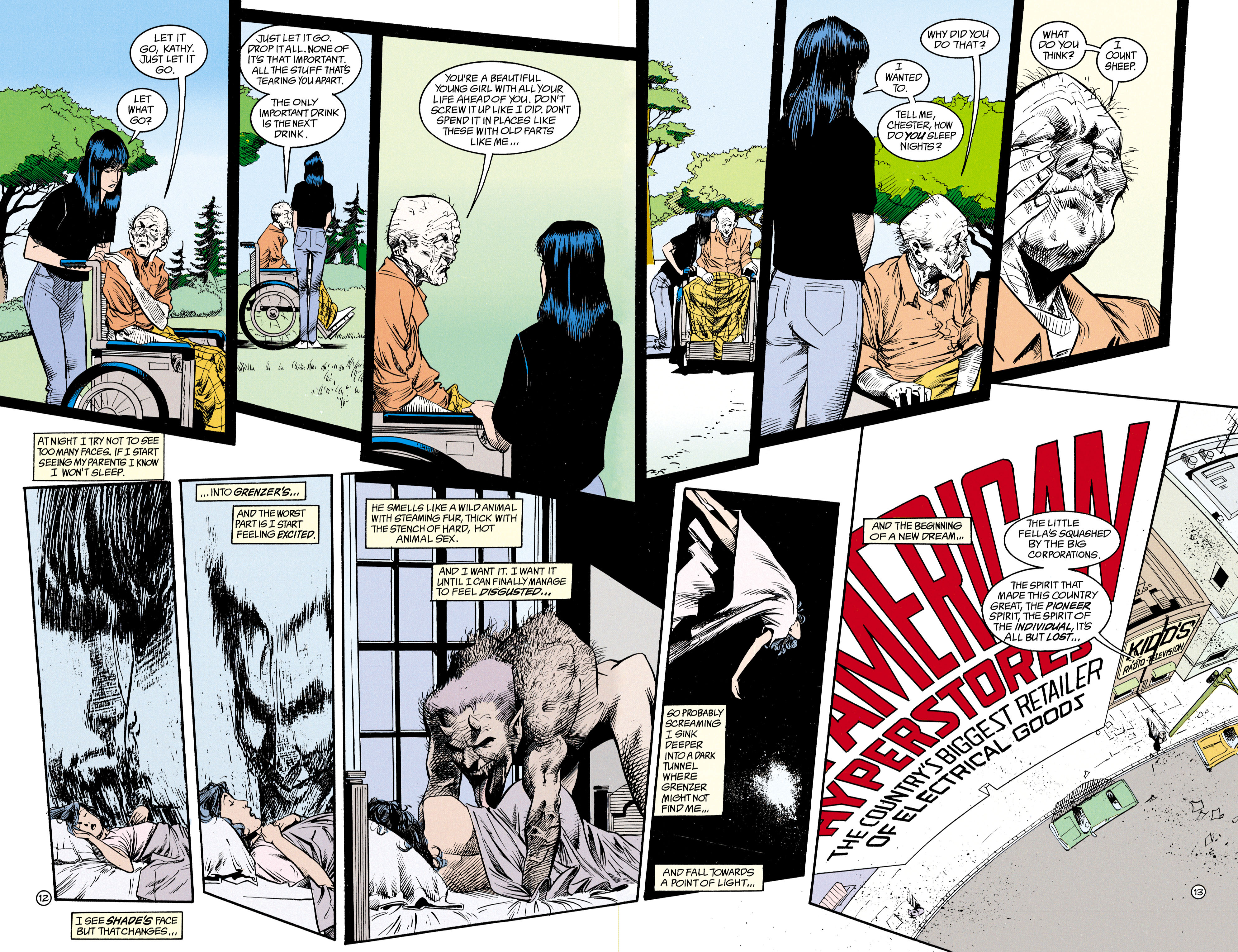 Read online Shade, the Changing Man comic -  Issue #15 - 9