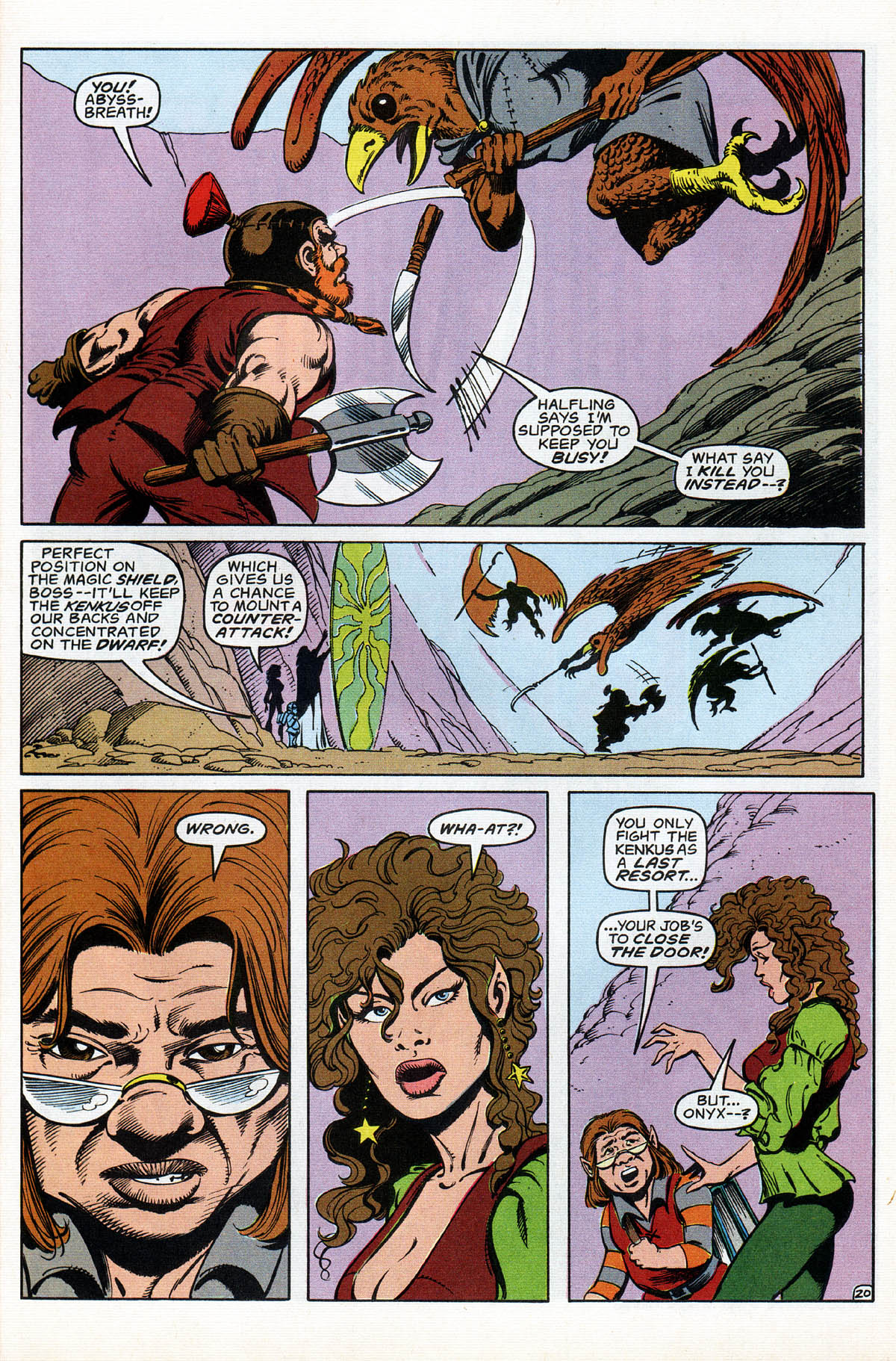 Read online Advanced Dungeons & Dragons comic -  Issue #17 - 24
