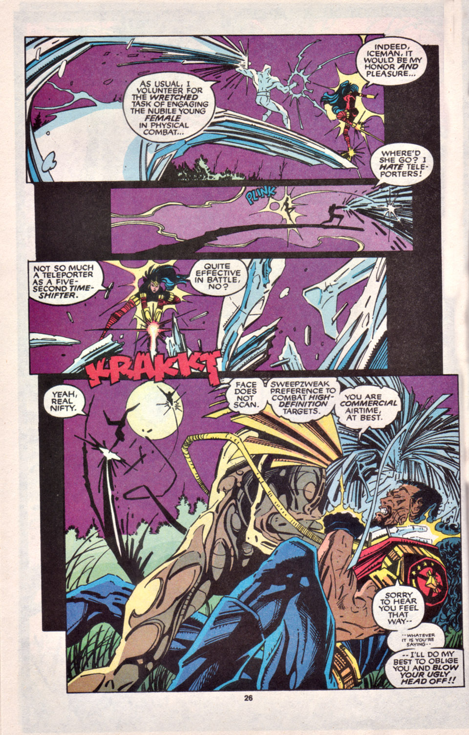Read online Uncanny X-Men (1963) comic -  Issue # _Annual 16 - 22