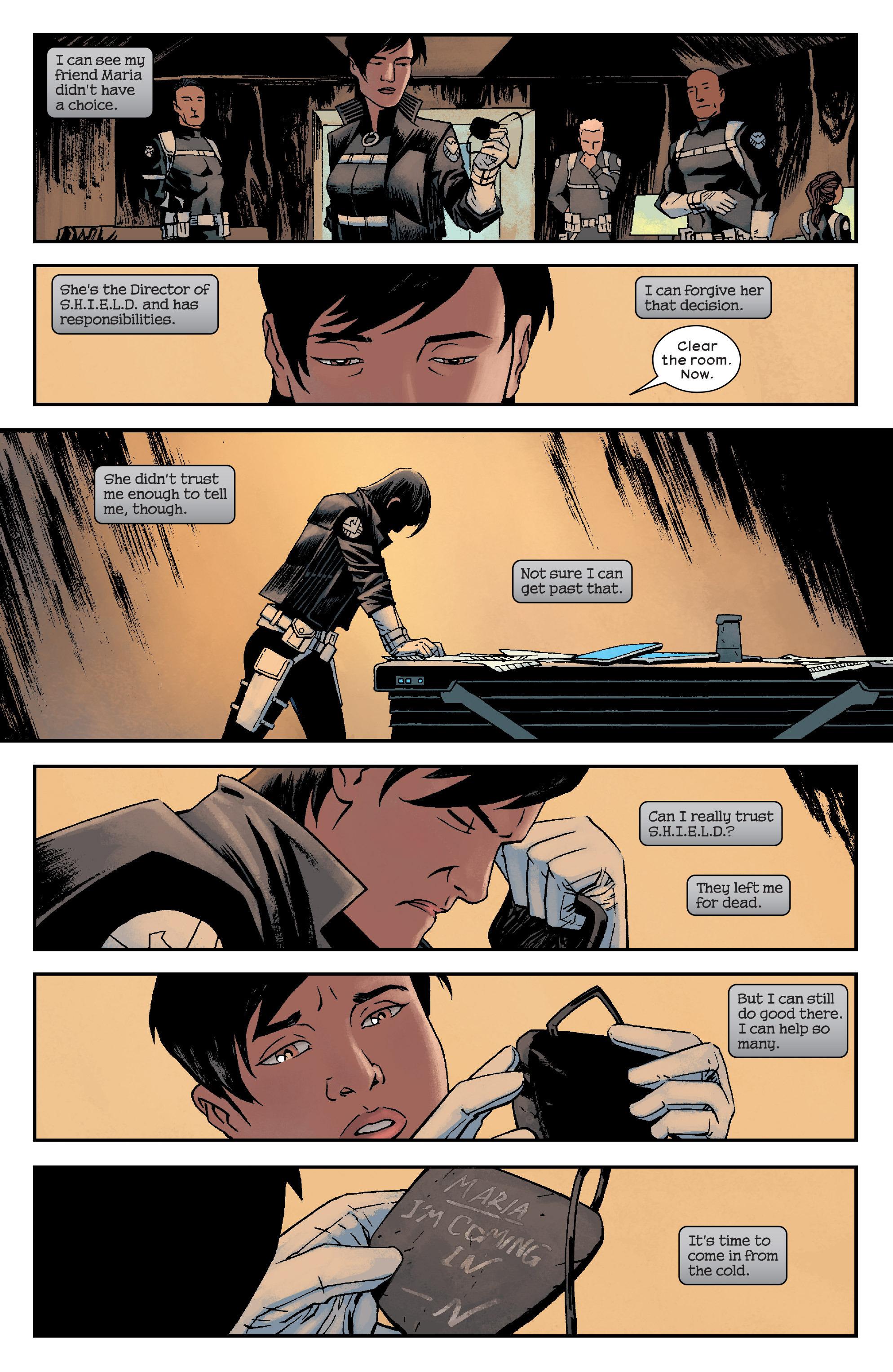 Read online Civil War II: Choosing Sides comic -  Issue #6 - 21