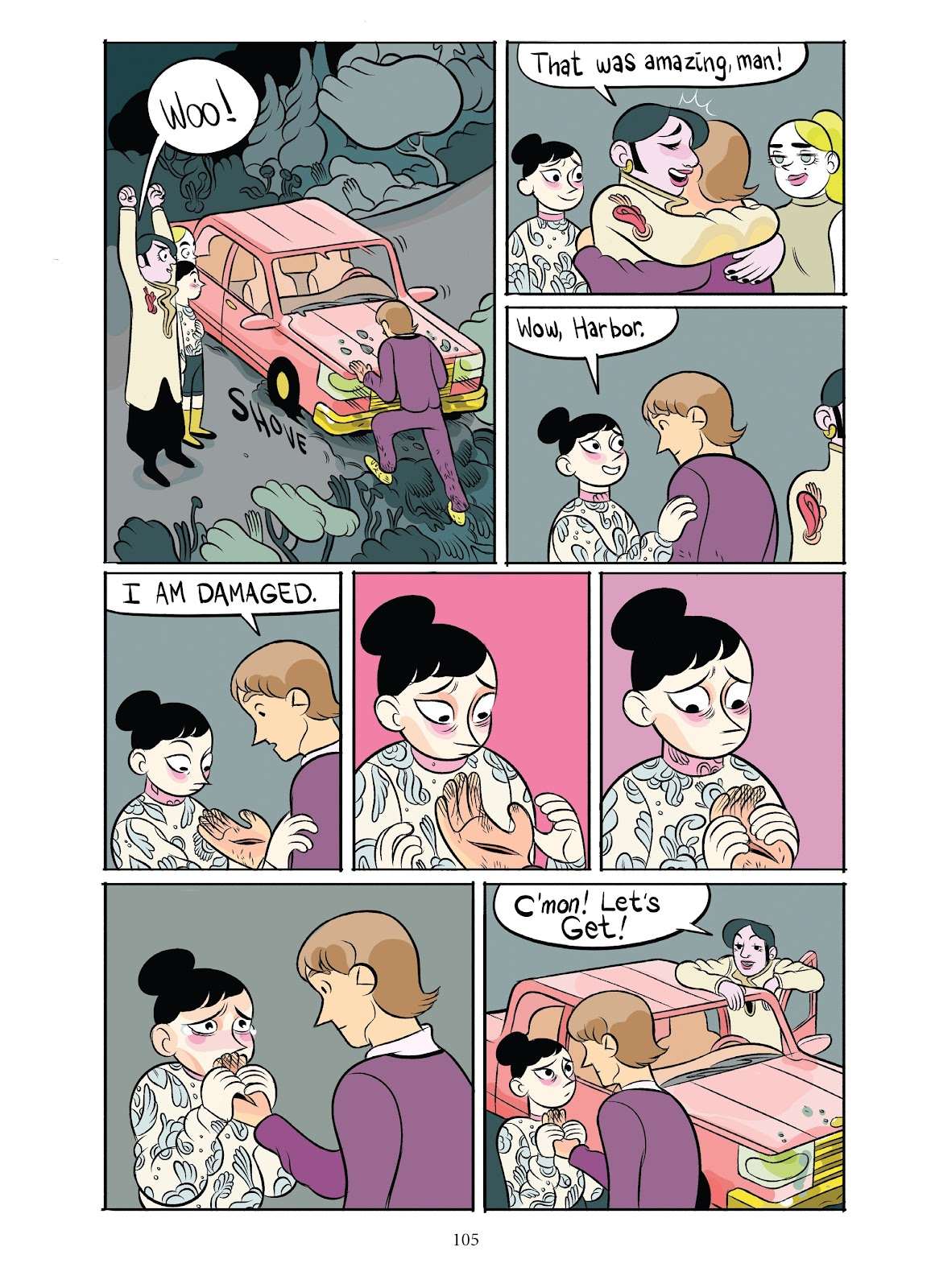 Read online Girl Town comic -  Issue # TPB (Part 2) - 5