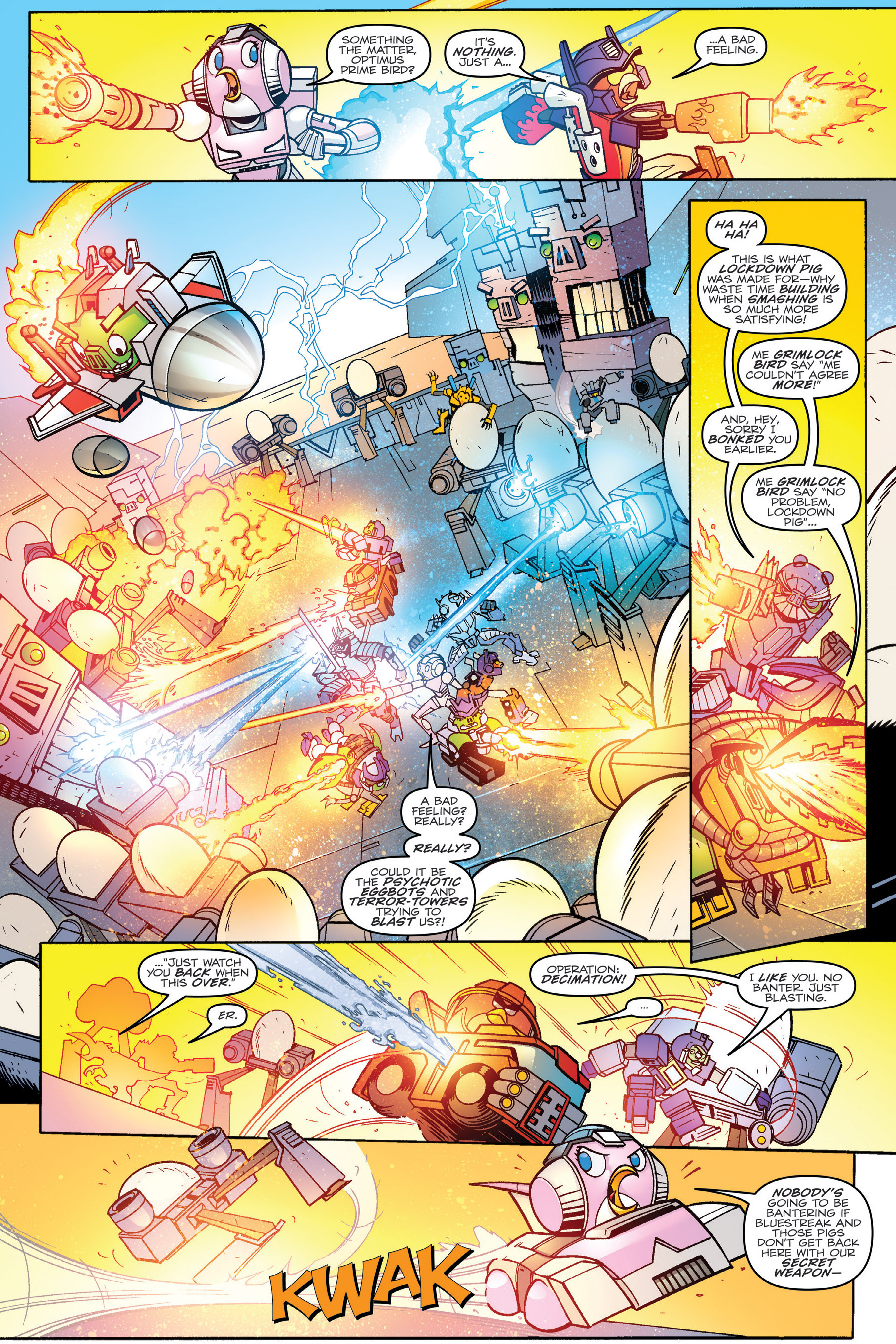 Read online Angry Birds Transformers: Age of Eggstinction comic -  Issue # Full - 77