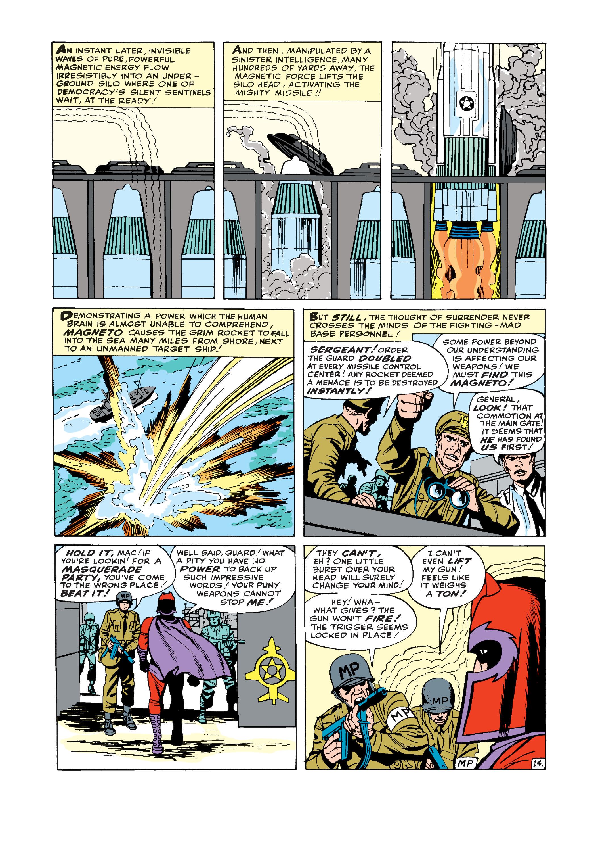 Uncanny X-Men (1963) -1 Page 14