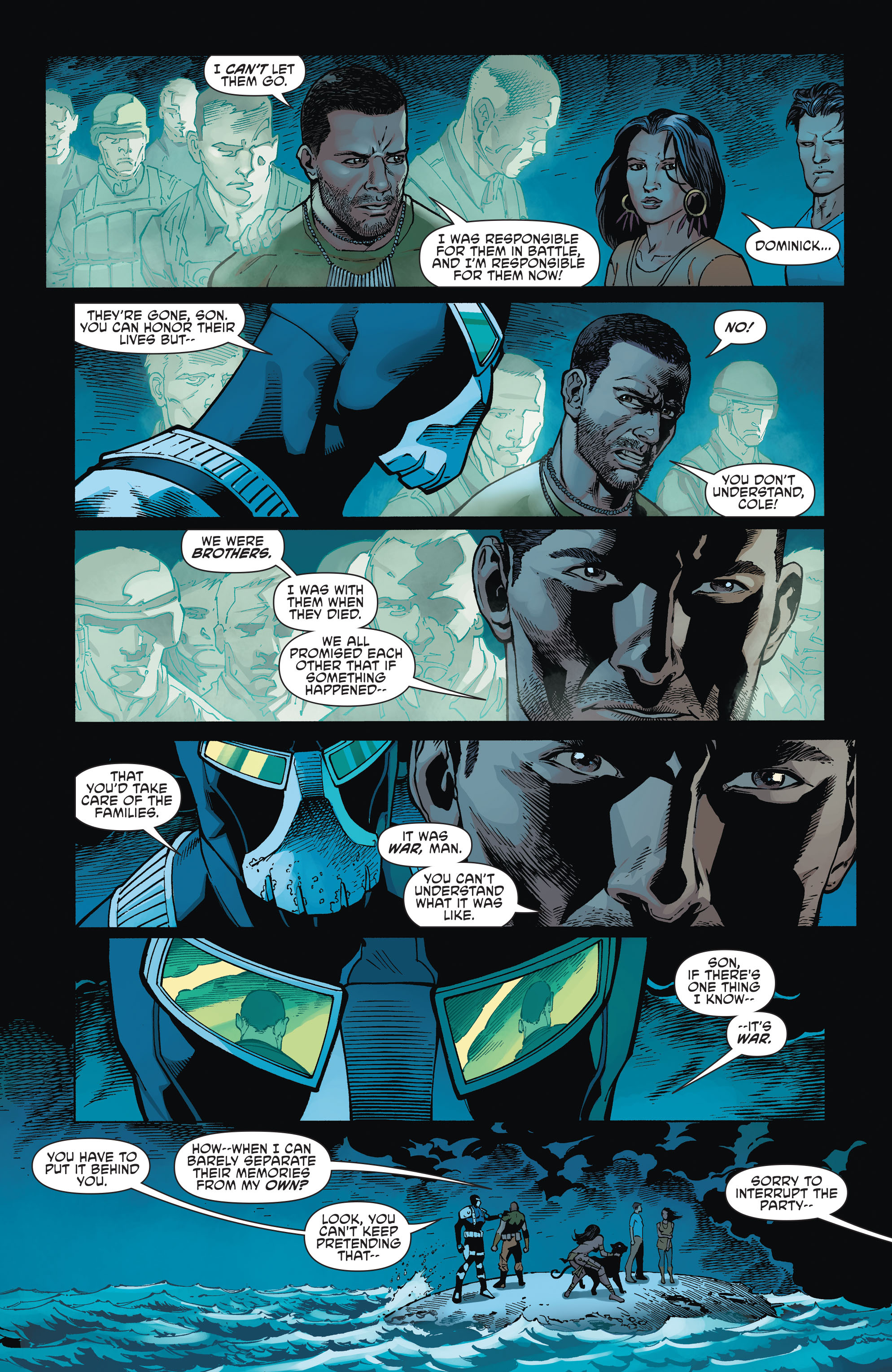 Read online Aquaman and the Others comic -  Issue #2 - 9