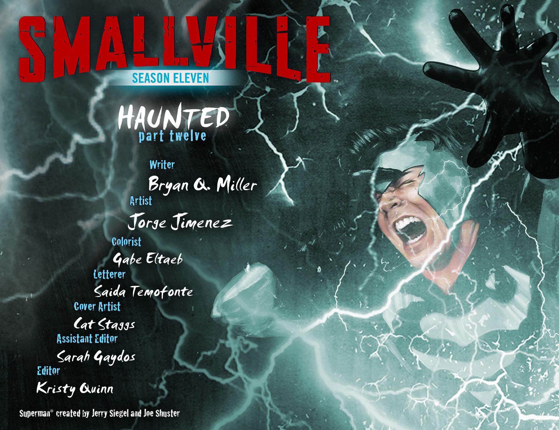 Read online Smallville: Season 11 comic -  Issue #40 - 2