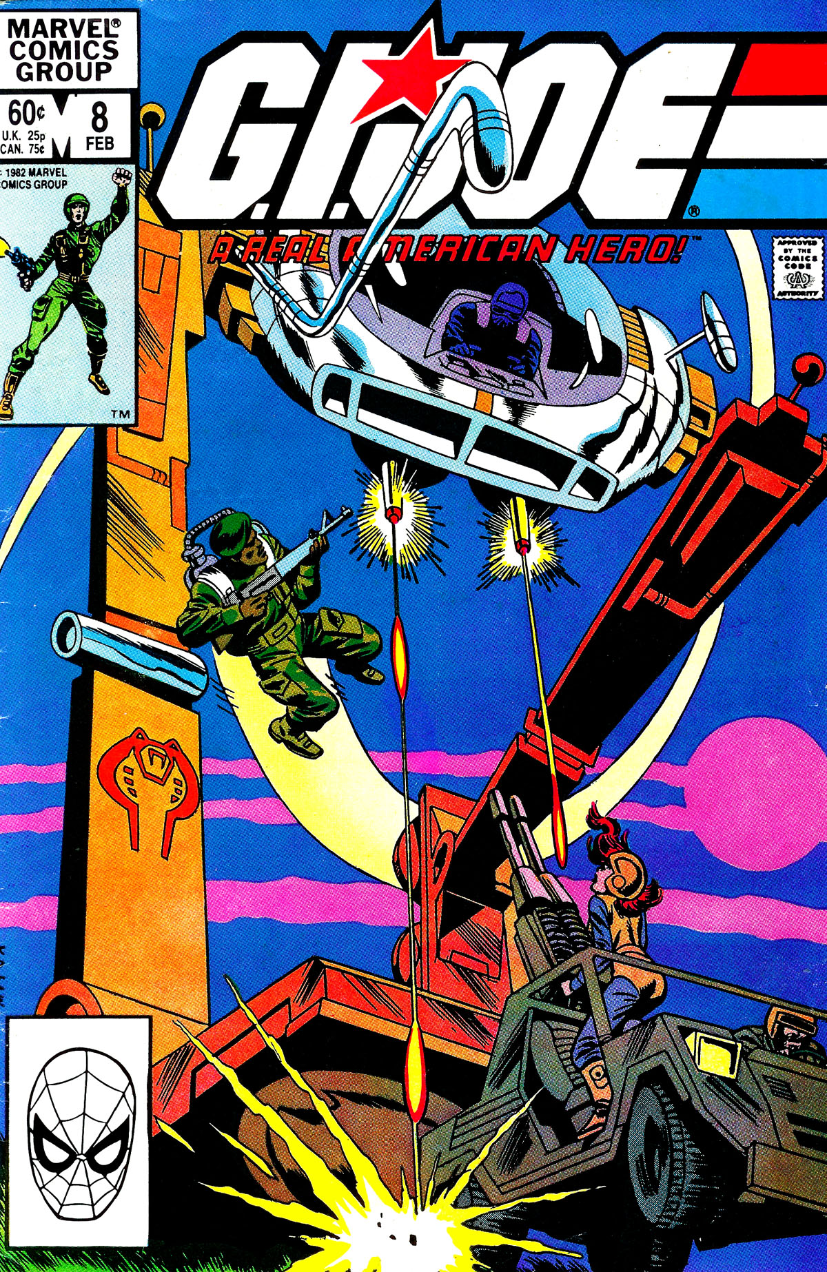 G.I. Joe: A Real American Hero 8 Page 1