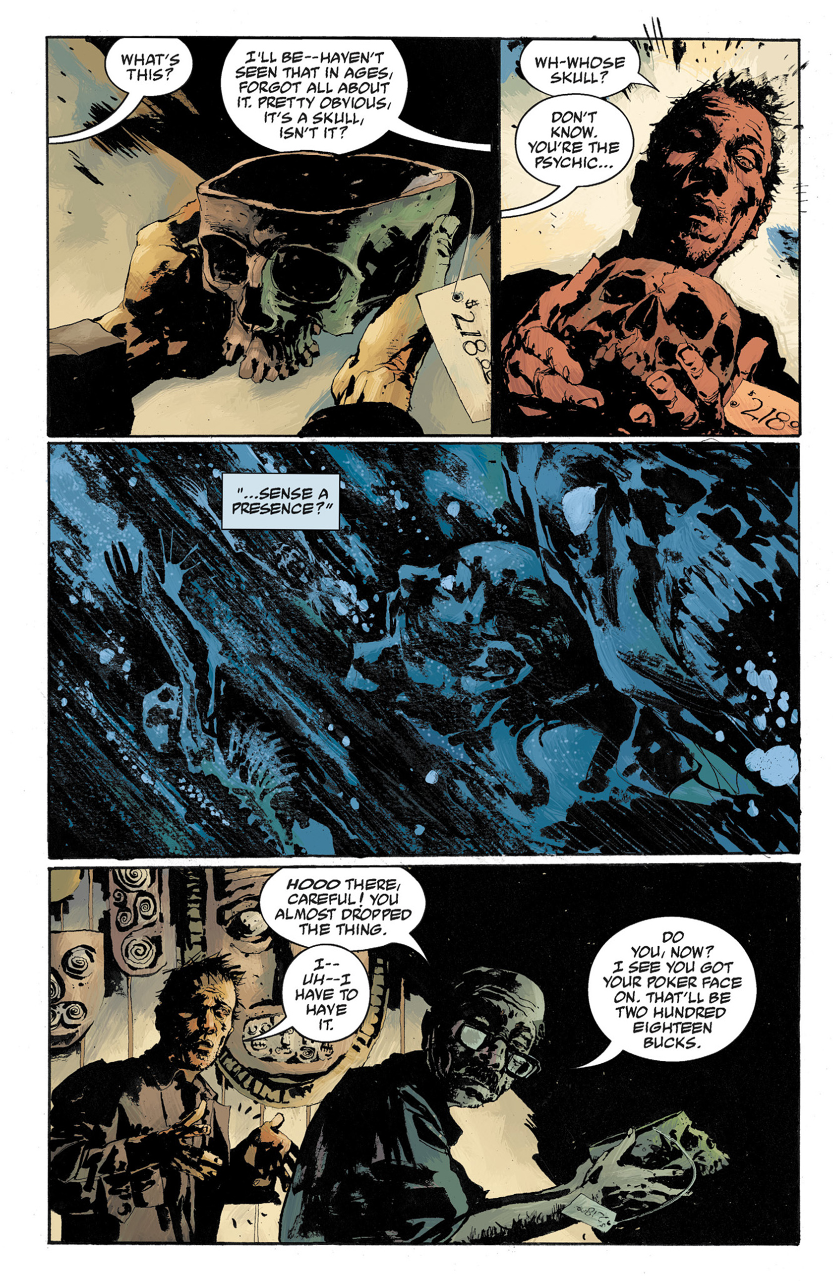 Read online Hellboy: The Crooked Man and Others comic -  Issue # TPB - 86