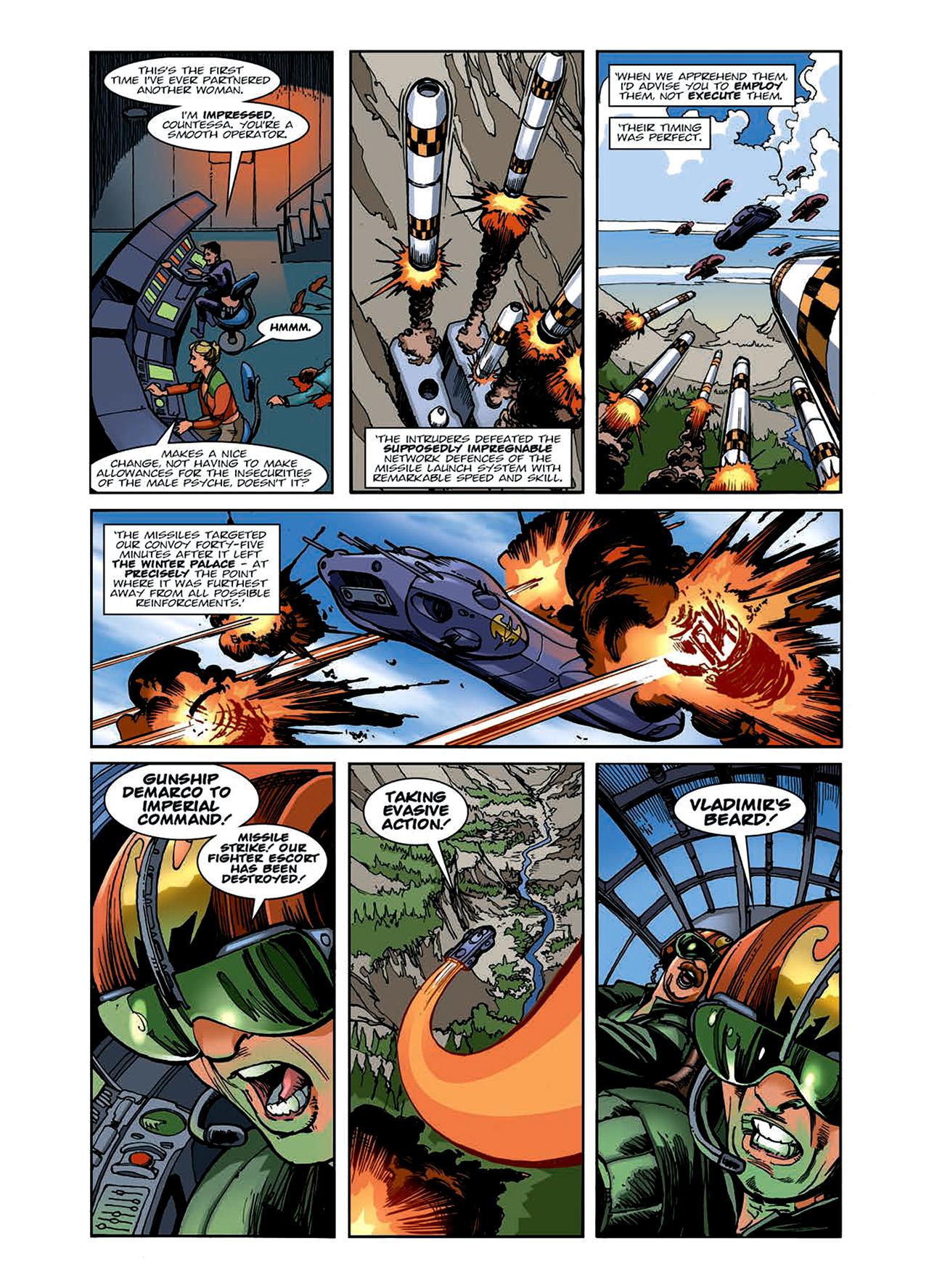 Read online Nikolai Dante comic -  Issue # TPB 6 - 50