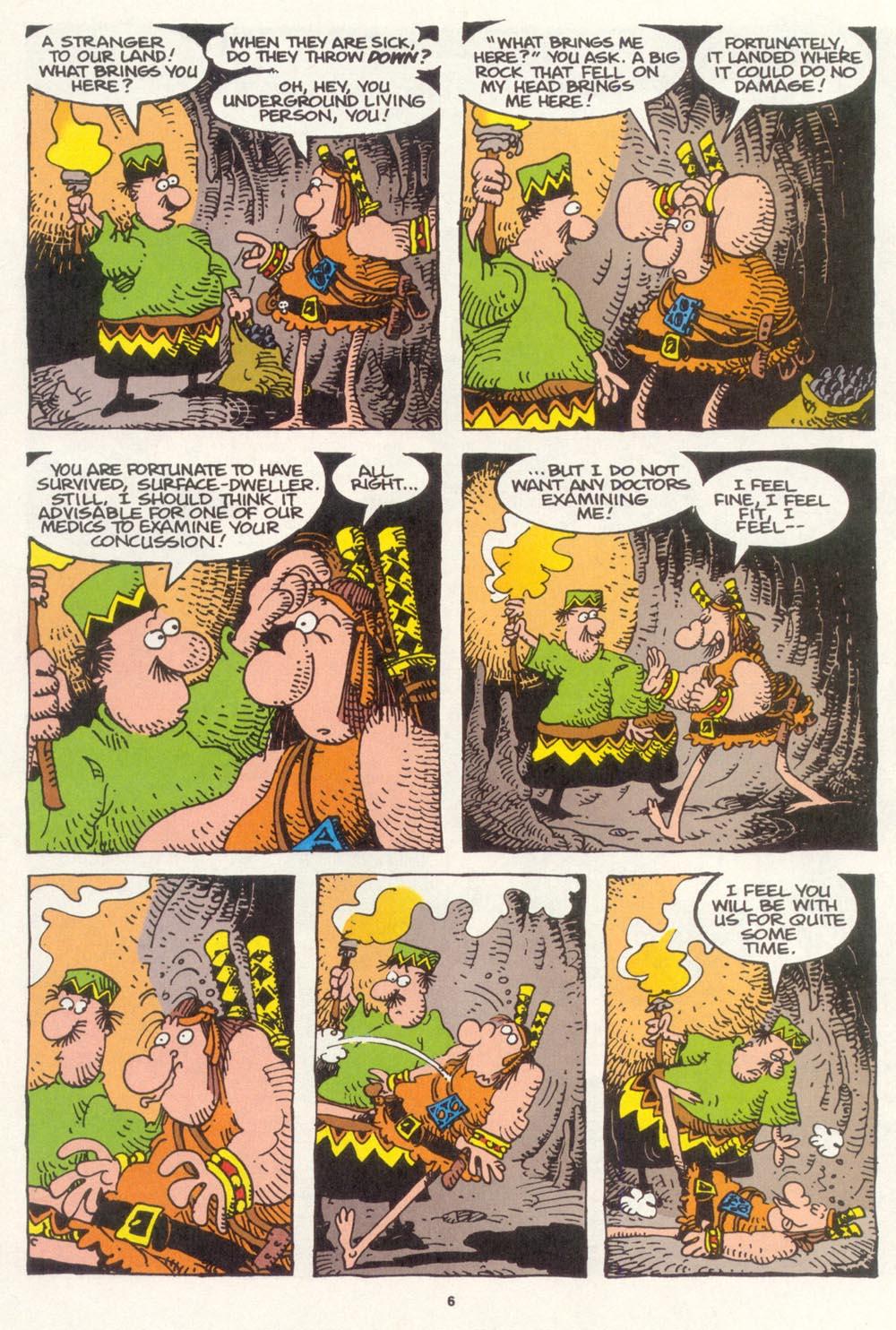 Read online Sergio Aragonés Groo the Wanderer comic -  Issue #119 - 7