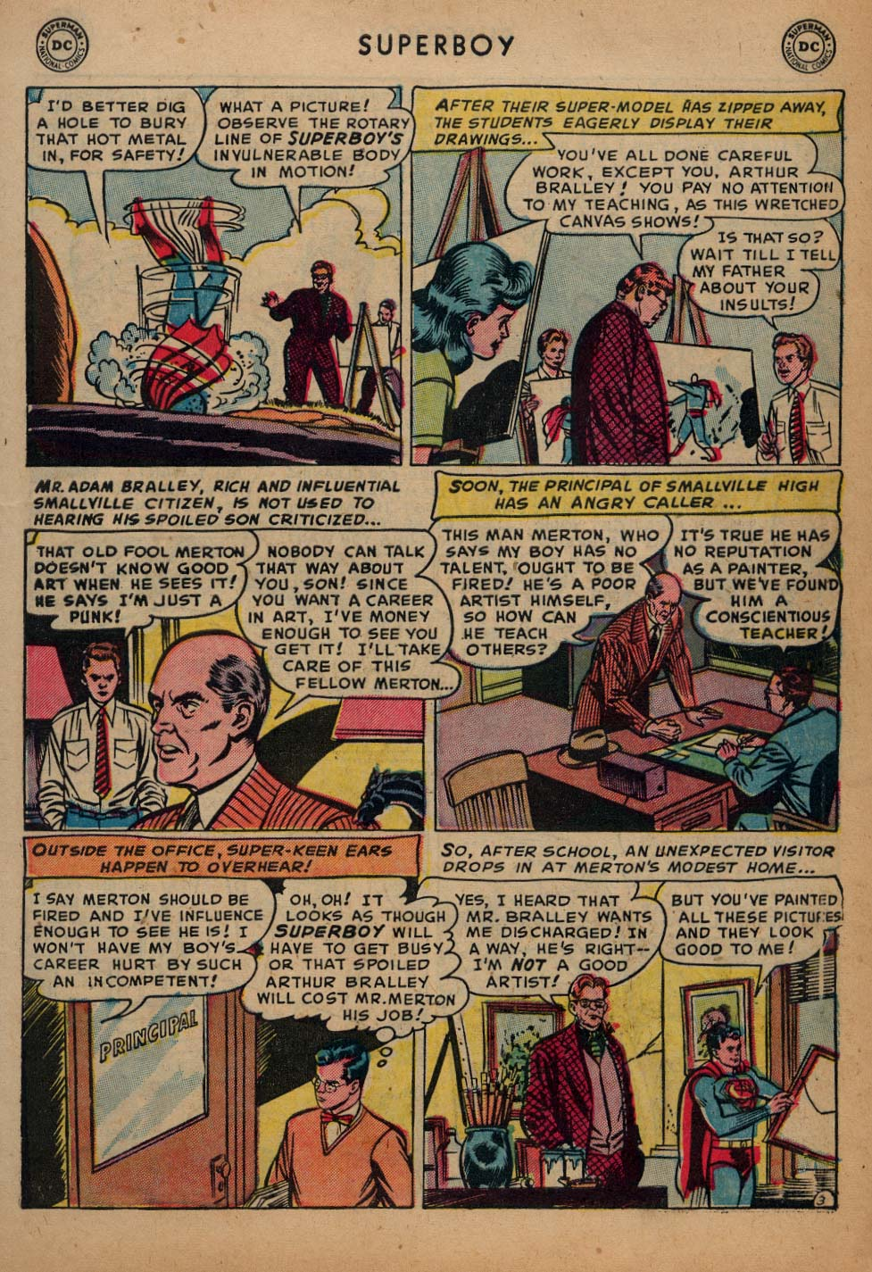 Superboy (1949) issue 25 - Page 4