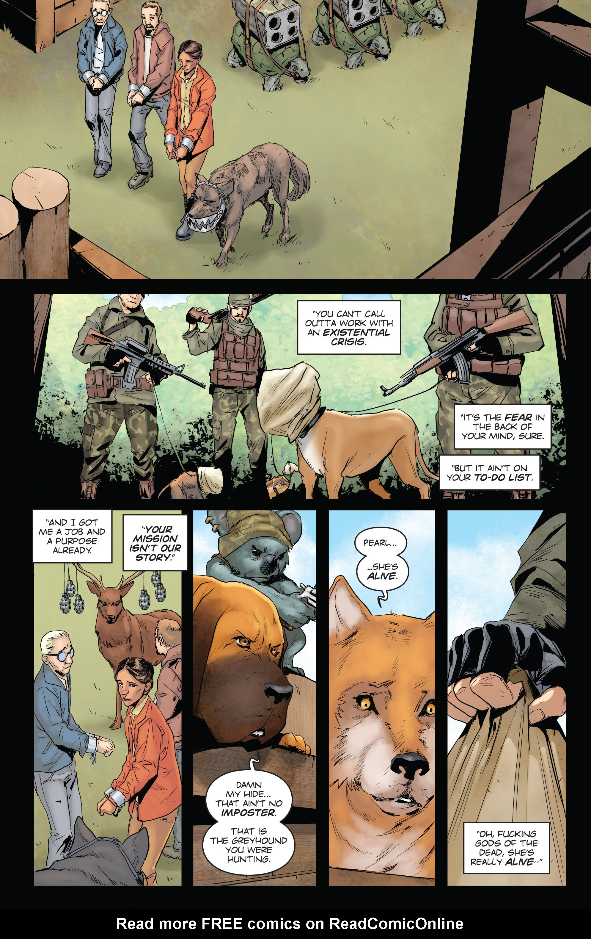 Read online Animosity comic -  Issue #3 - 19