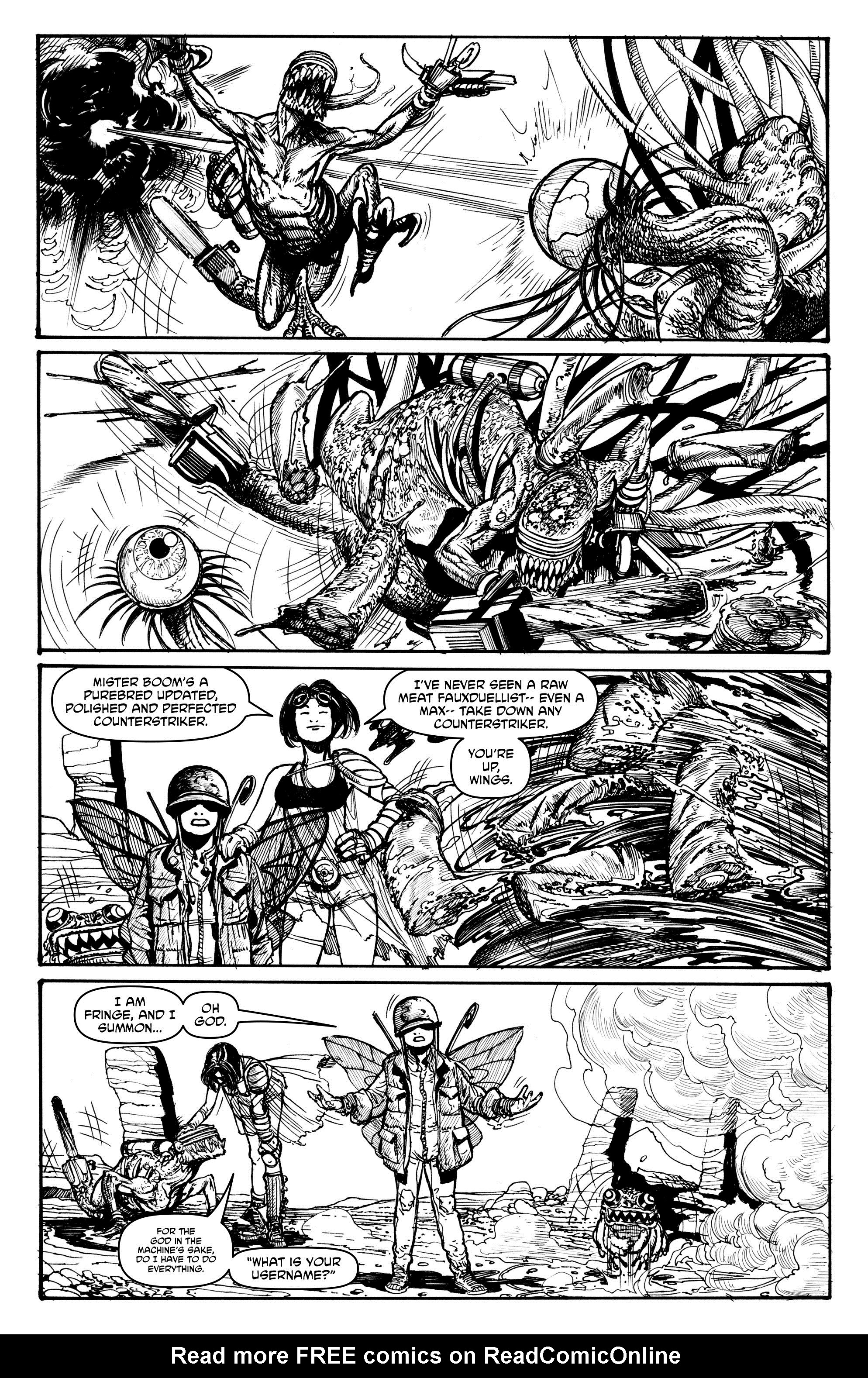 Read online Alan Moore's Cinema Purgatorio comic -  Issue #2 - 31