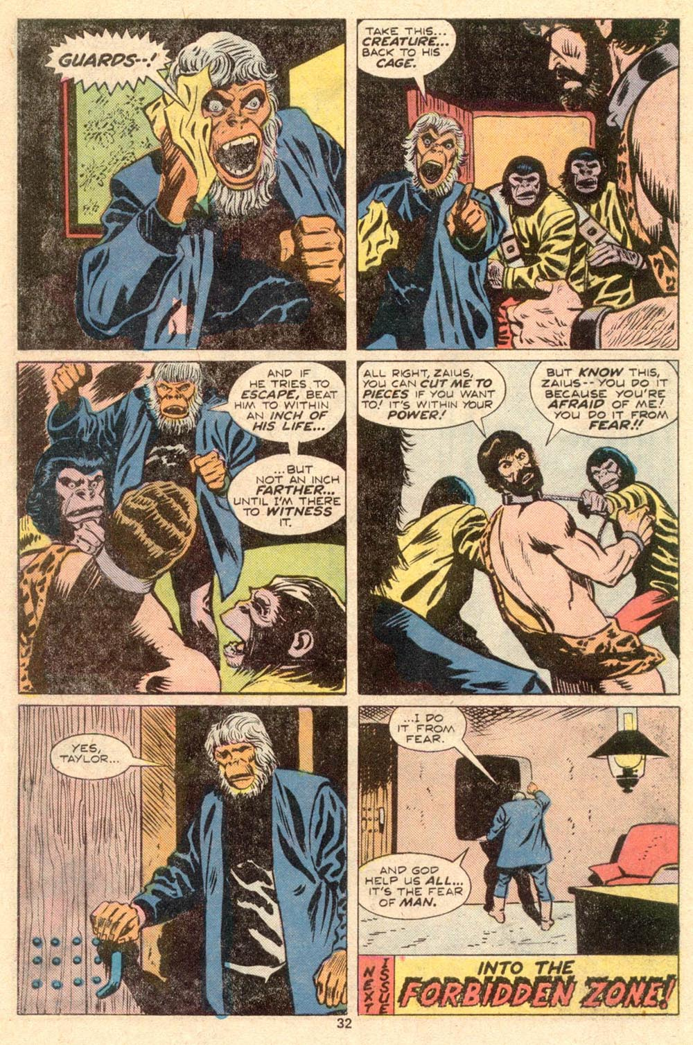Read online Adventures on the Planet of the Apes comic -  Issue #4 - 22