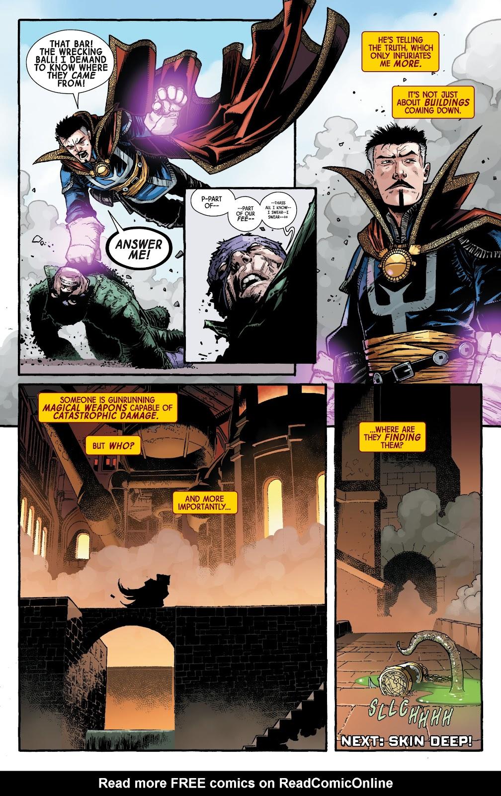 Read online Dr. Strange comic -  Issue #2 - 22