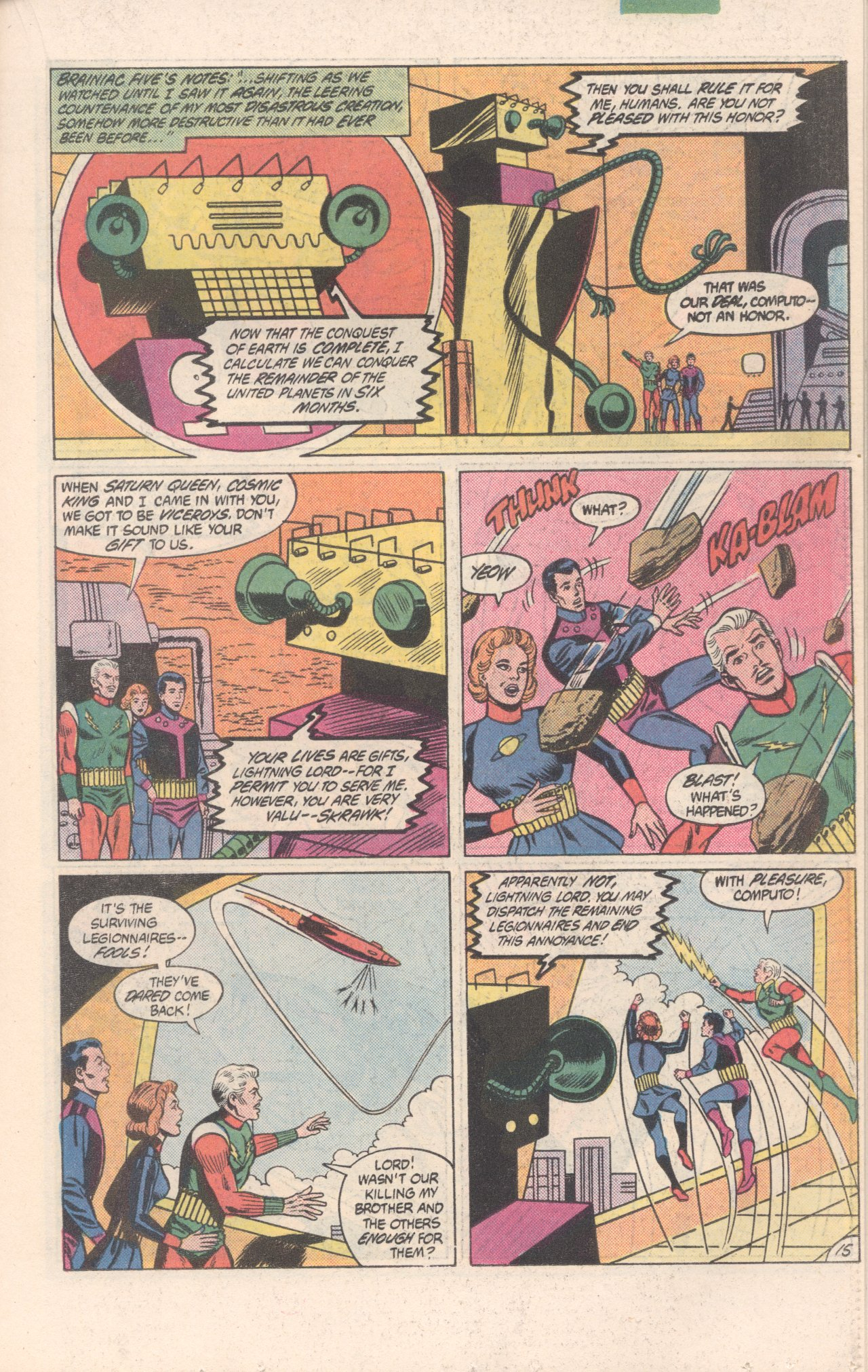 Legion of Super-Heroes (1980) 300 Page 15