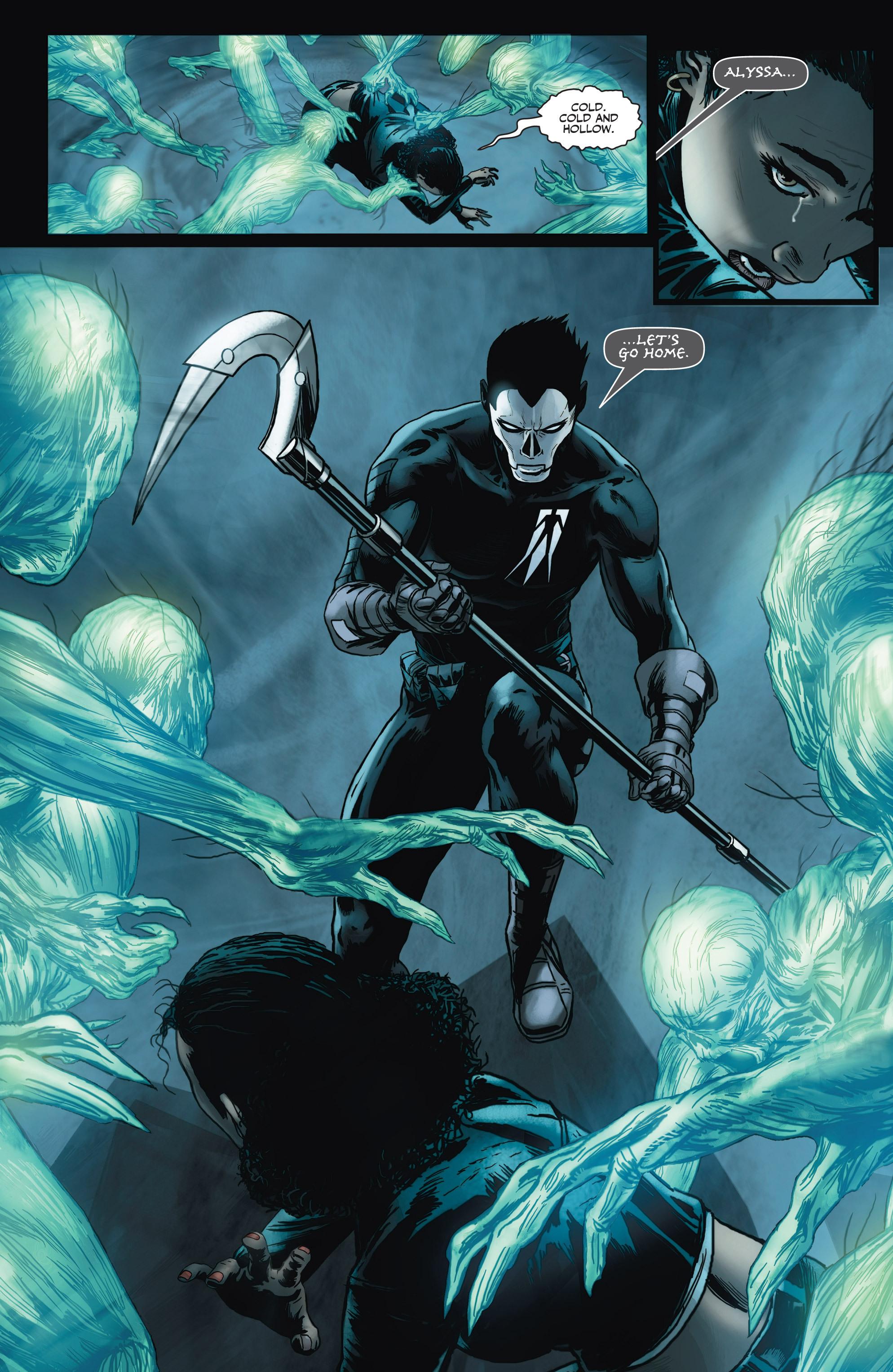 Read online Shadowman (2012) comic -  Issue #3 - 22
