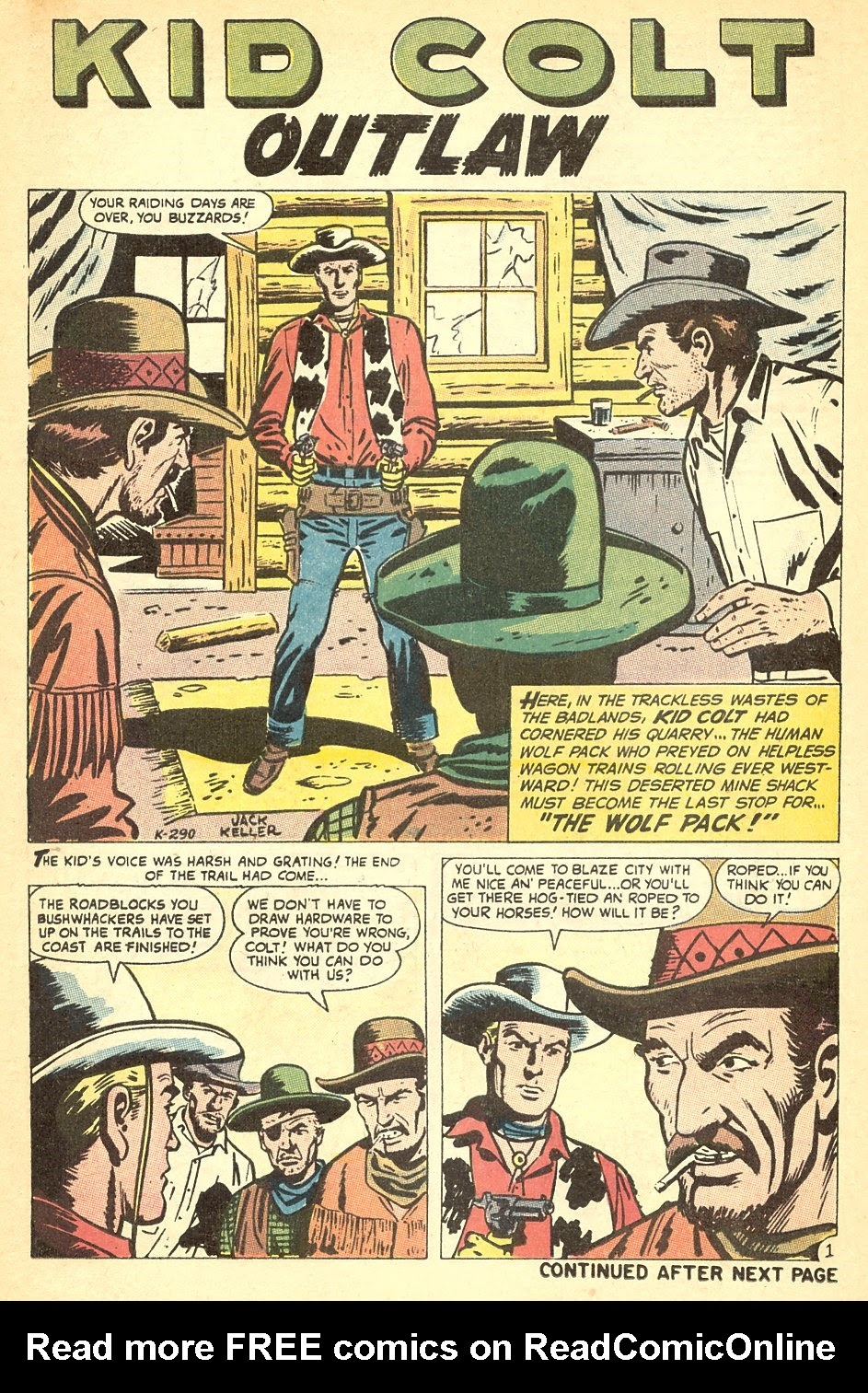 Kid Colt Outlaw issue 140 - Page 14