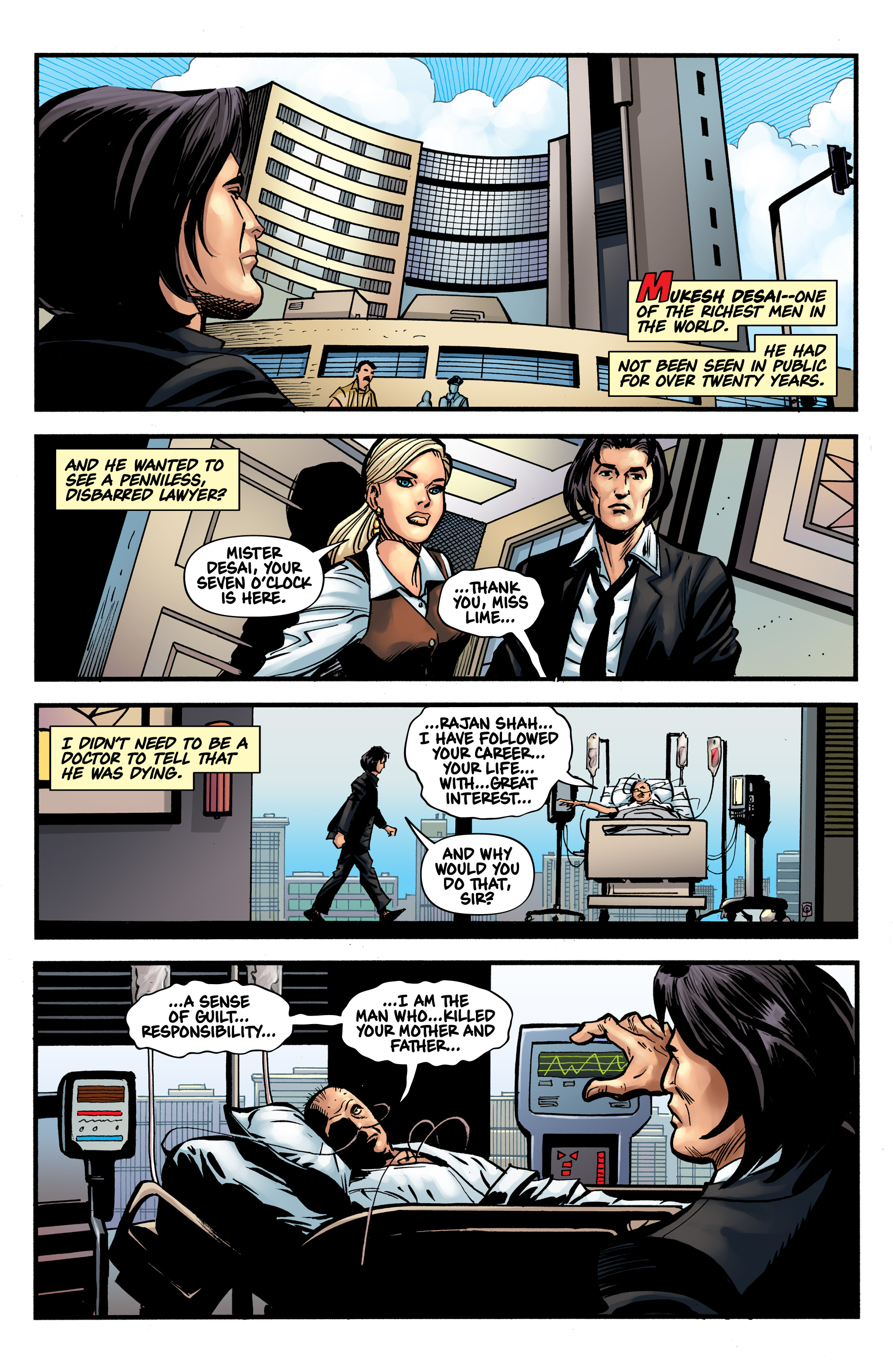 Read online Shadow Tiger comic -  Issue #1 - 15