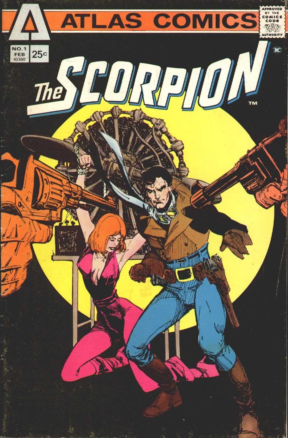 The Scorpion (1975) issue 1 - Page 1