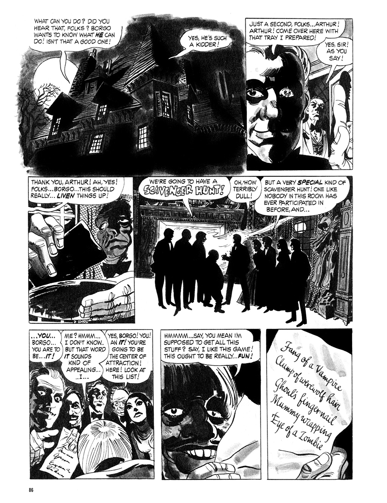 Read online Eerie Archives comic -  Issue # TPB 5 - 87