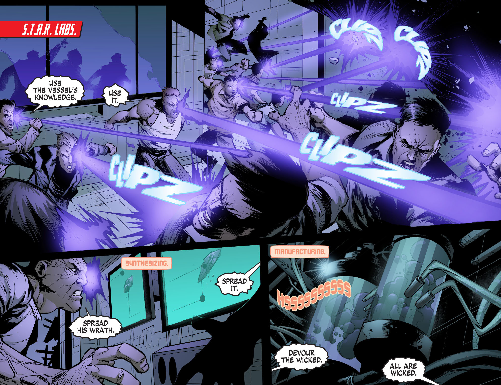 Read online Smallville: Chaos [II] comic -  Issue #5 - 3