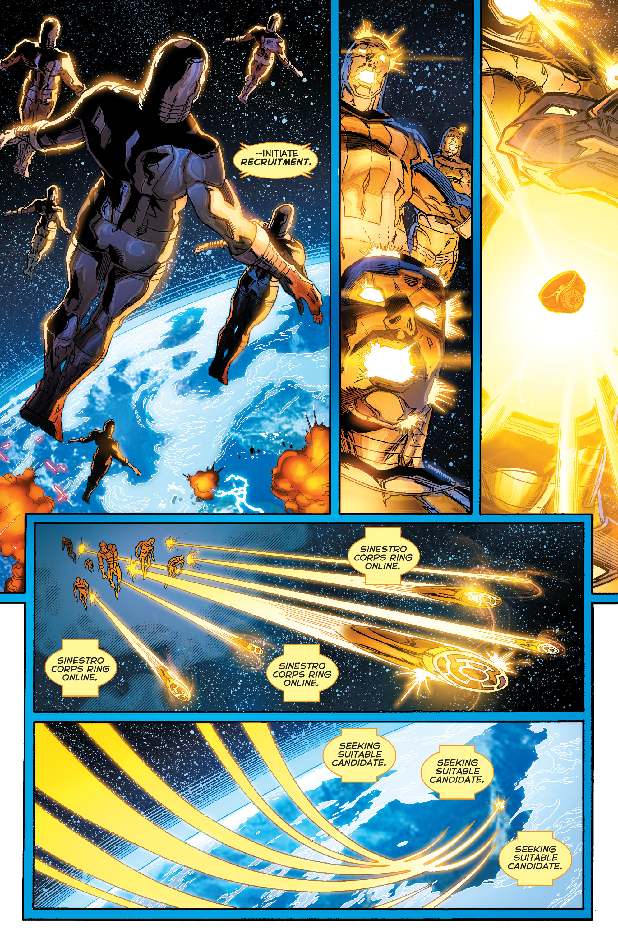 Read online Sinestro comic -  Issue #18 - 18