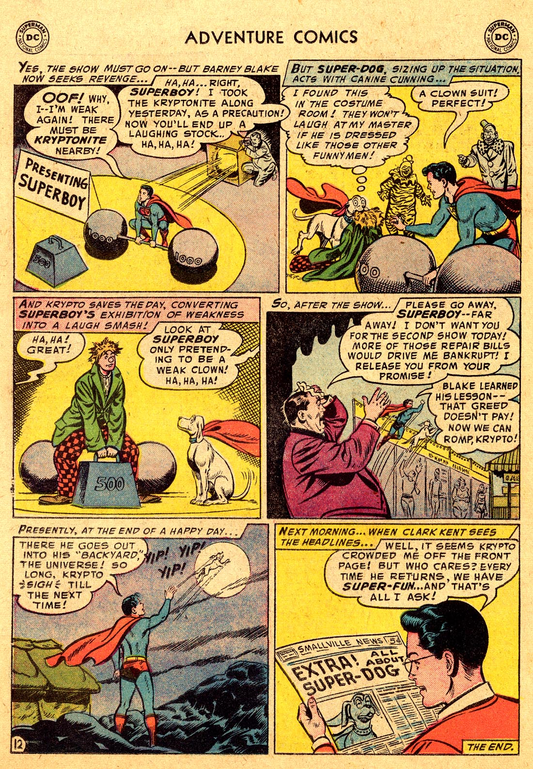 Read online Adventure Comics (1938) comic -  Issue #220 - 14