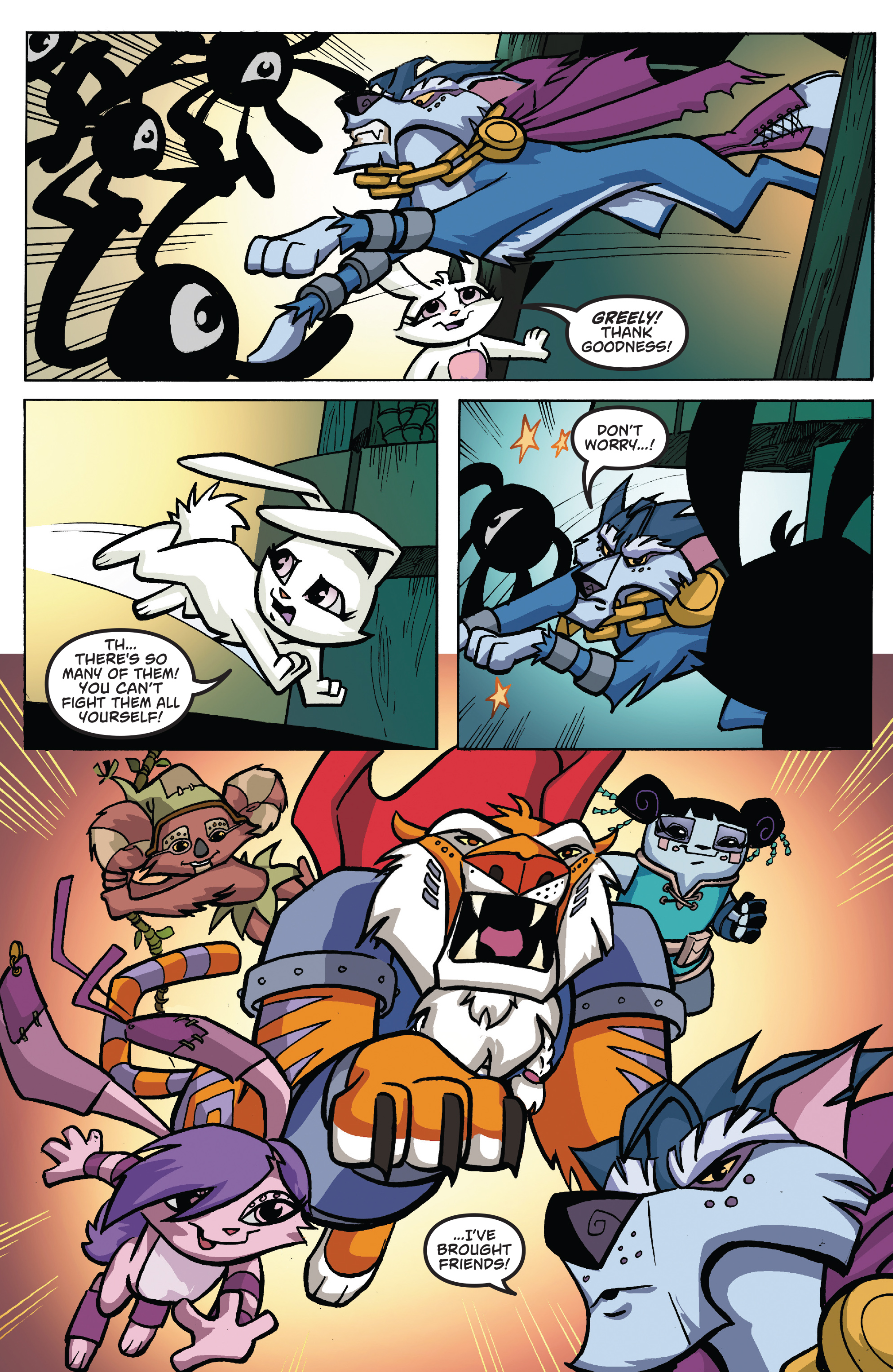 Read online Free Comic Book Day 2017 comic -  Issue # Animal Jam - 18