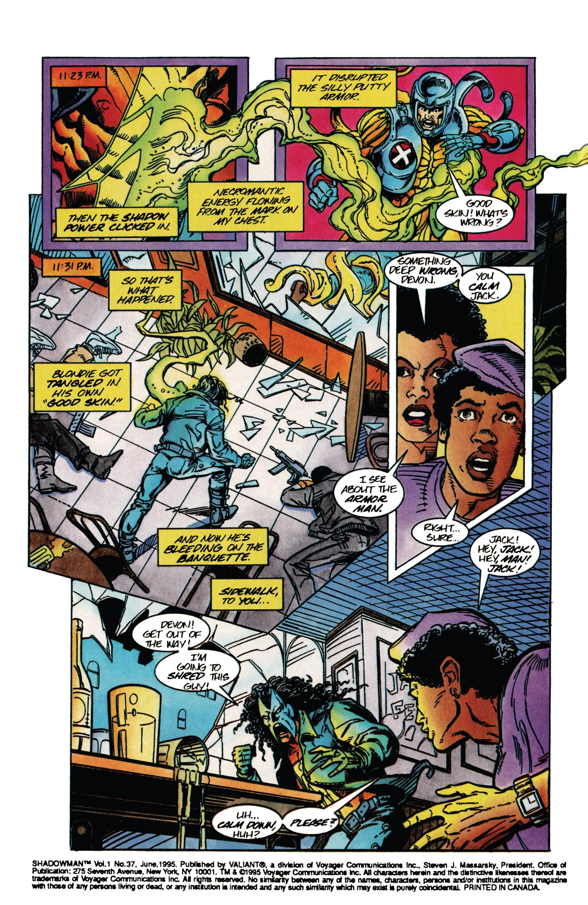 Read online Shadowman (1992) comic -  Issue #37 - 5