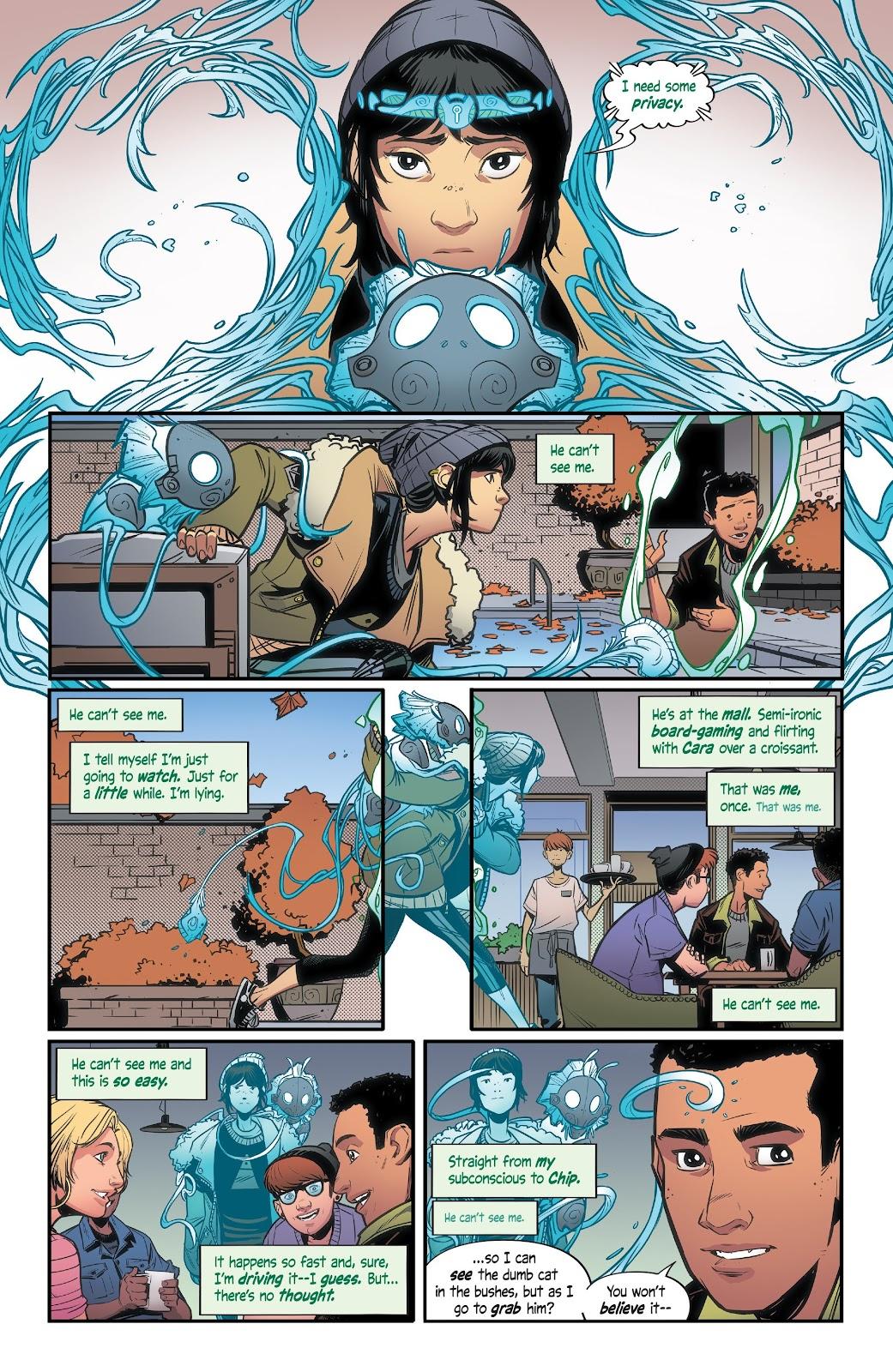 Read online Alienated comic -  Issue #3 - 9
