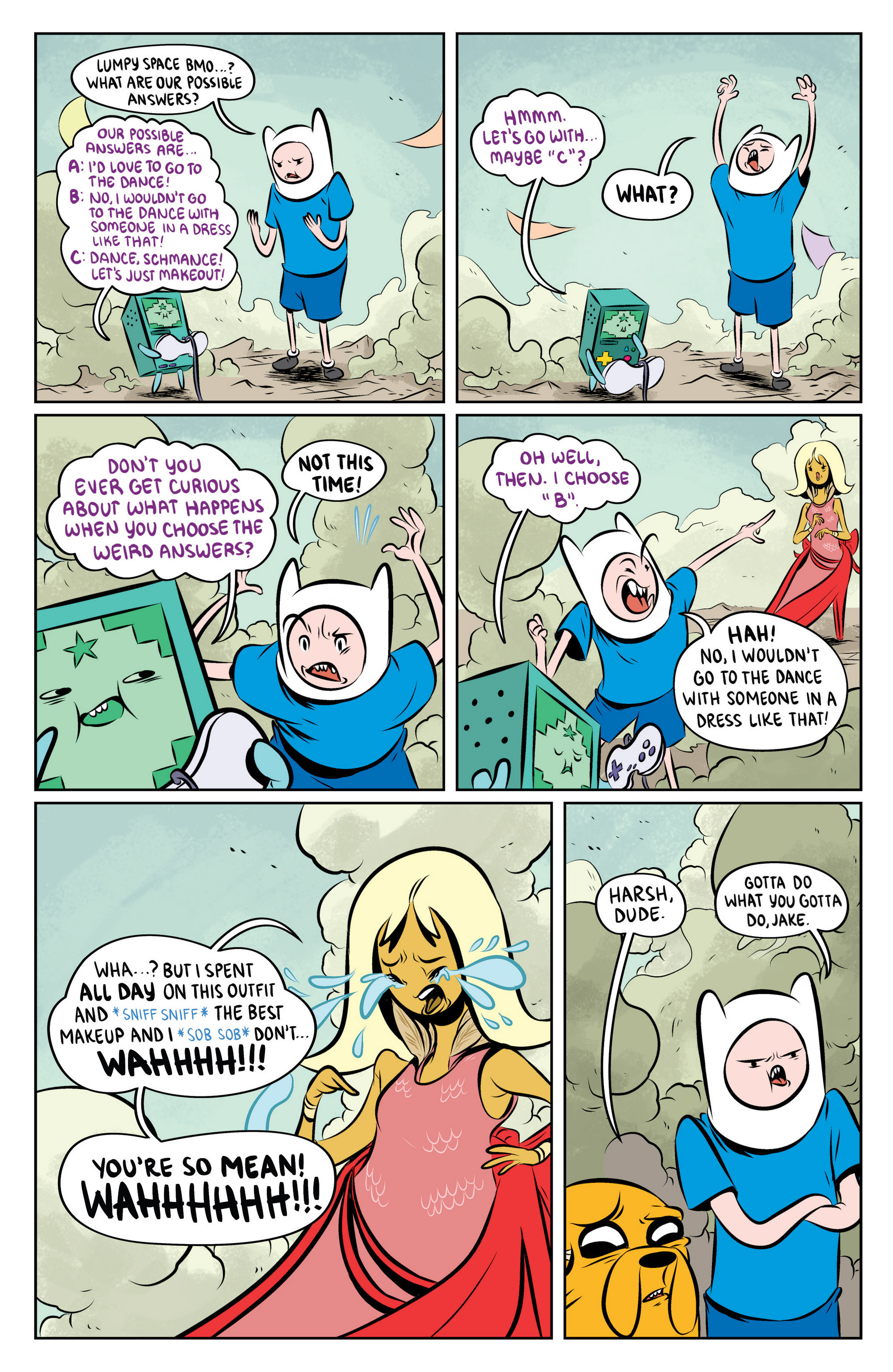 Read online Adventure Time: The Flip Side comic -  Issue #4 - 24