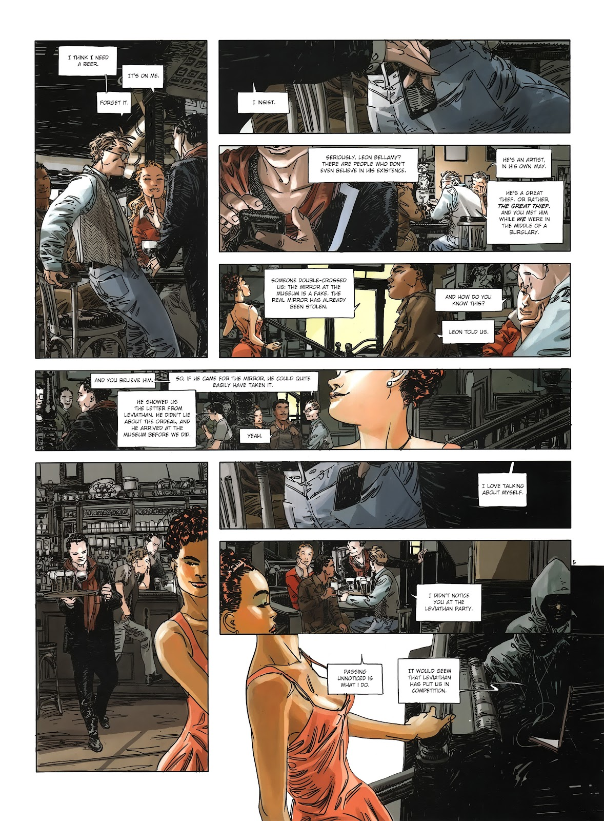 Read online Cutting Edge (2013) comic -  Issue #3 - 7