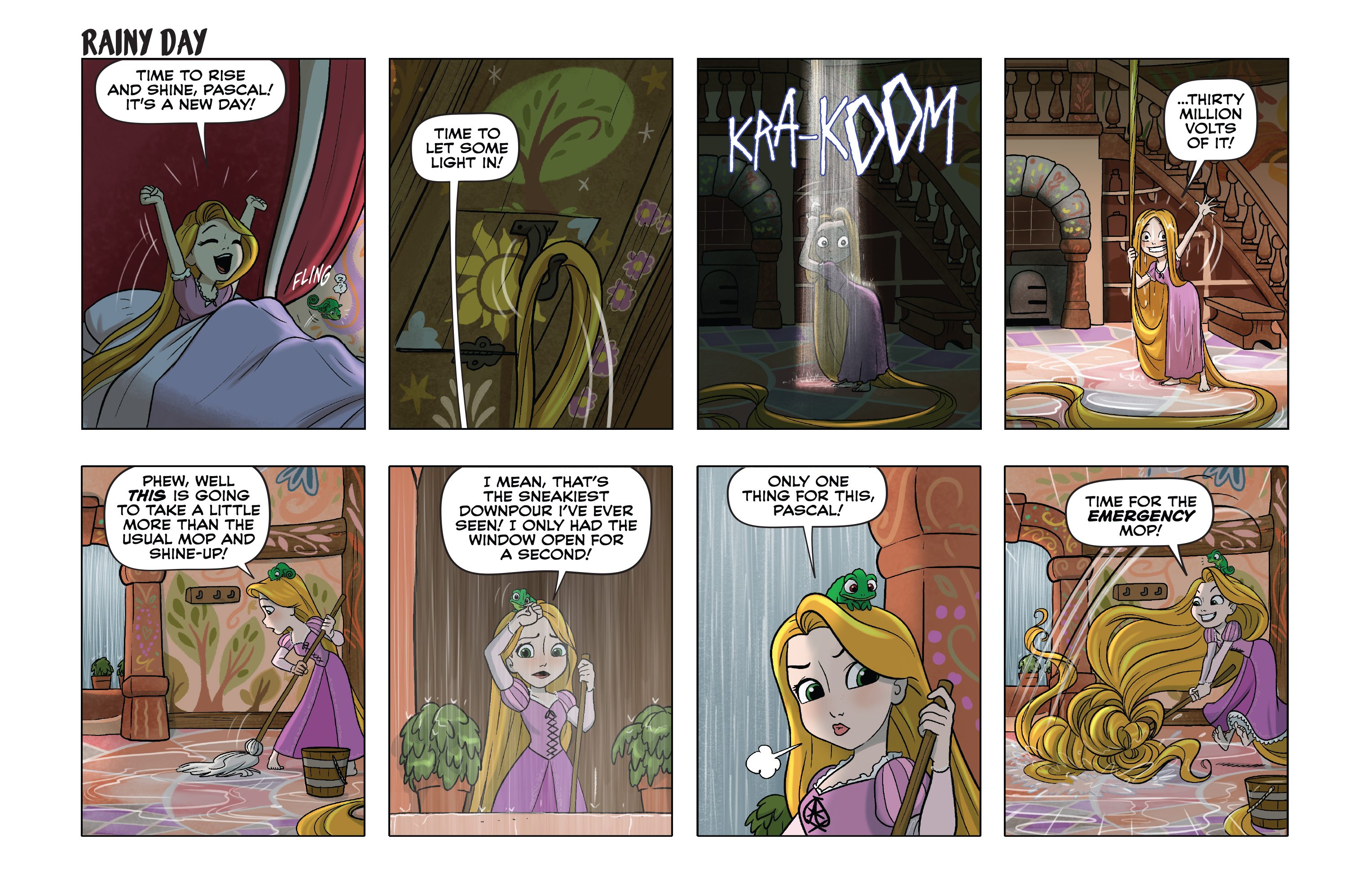 Read online Disney Princess comic -  Issue #9 - 9