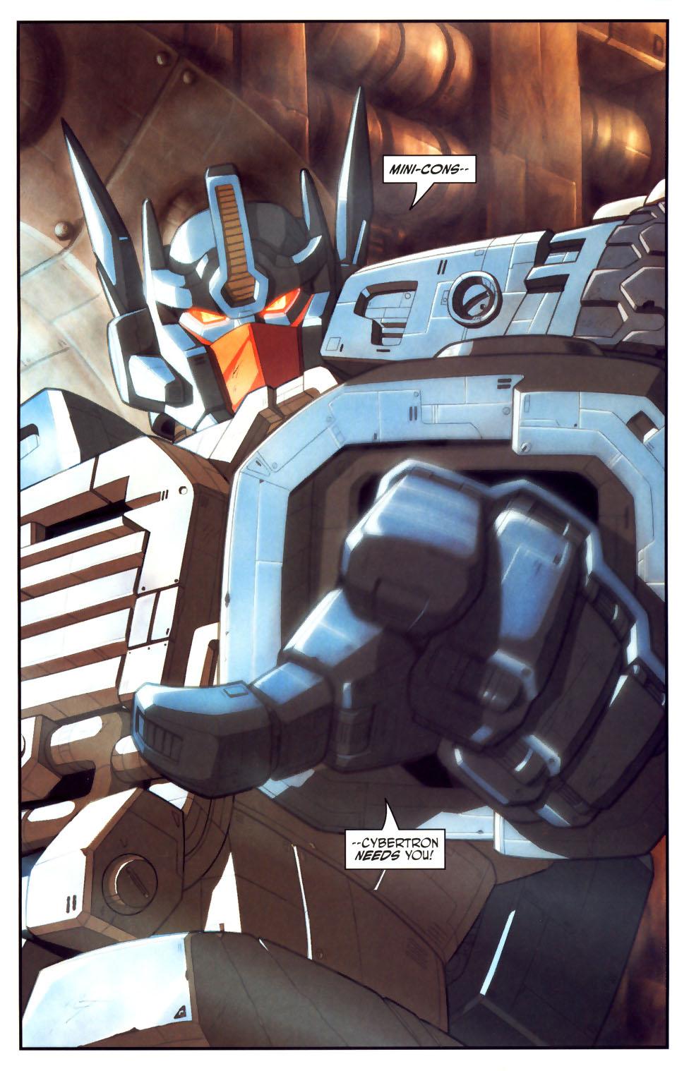 Read online Transformers Armada comic -  Issue #18 - 3