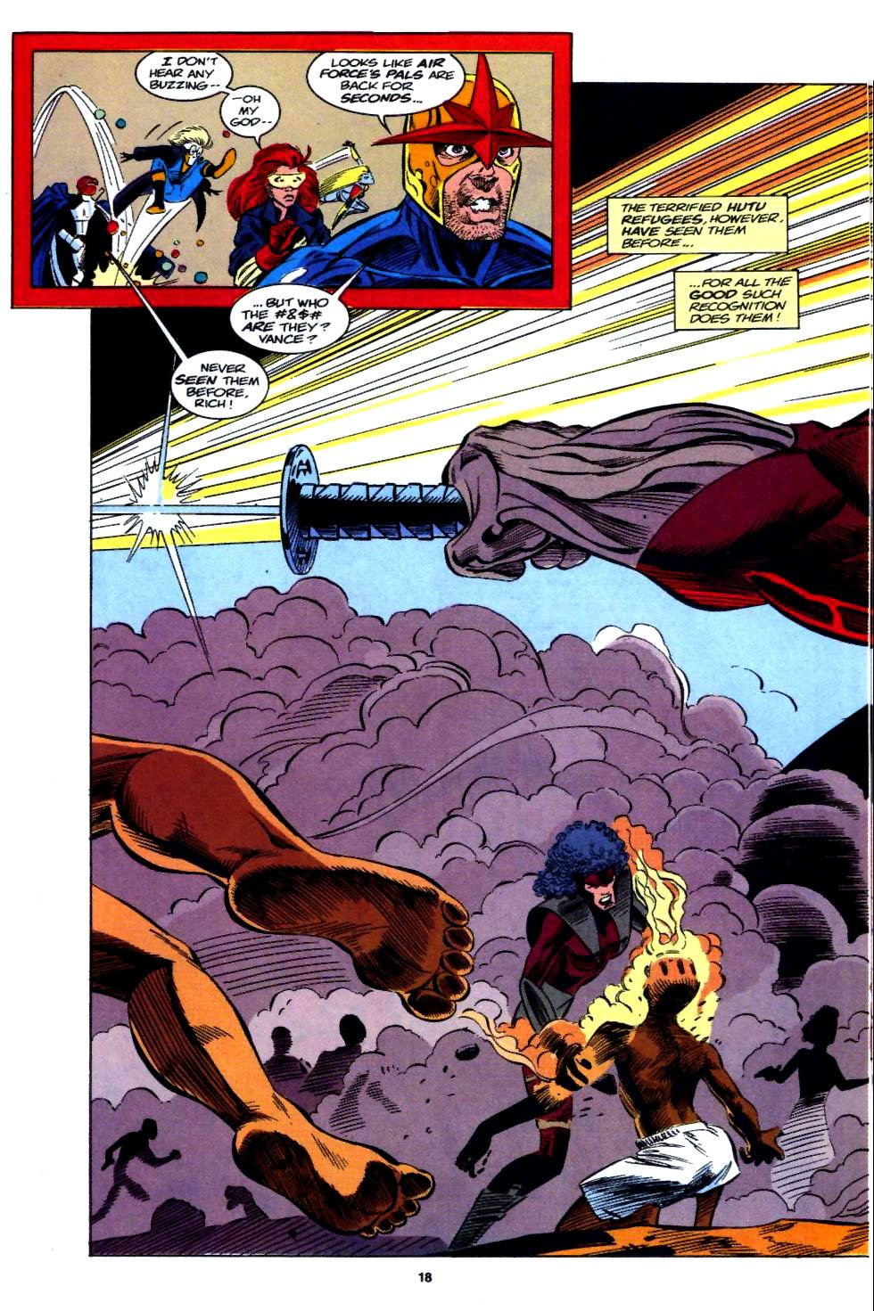 The New Warriors Issue #54 #58 - English 14