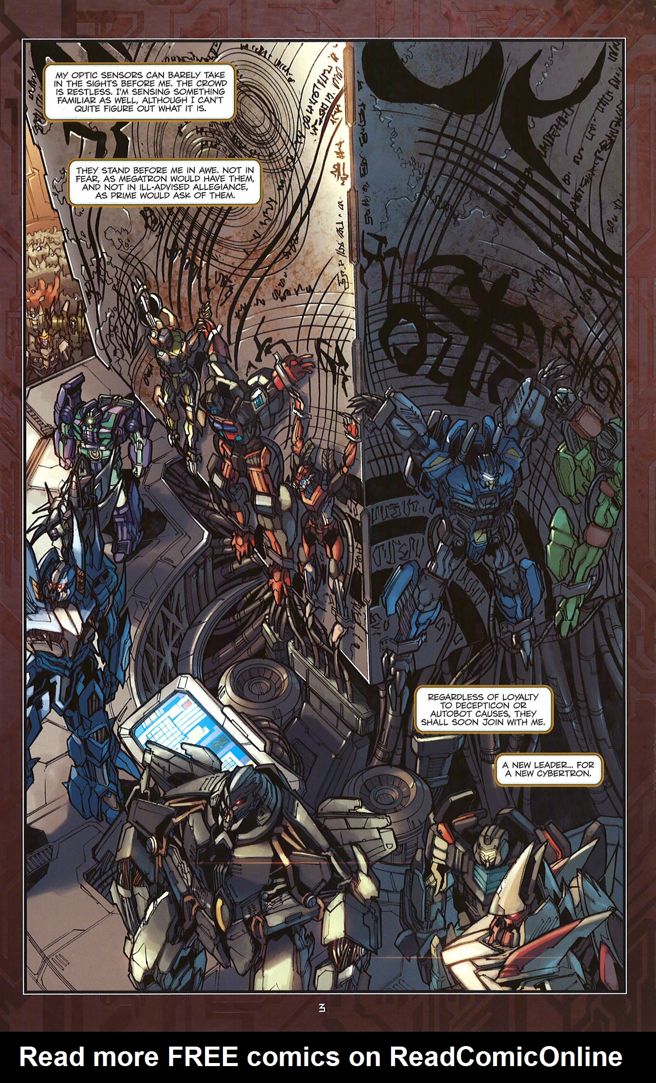 Read online Transformers: The Reign of Starscream comic -  Issue #5 - 6