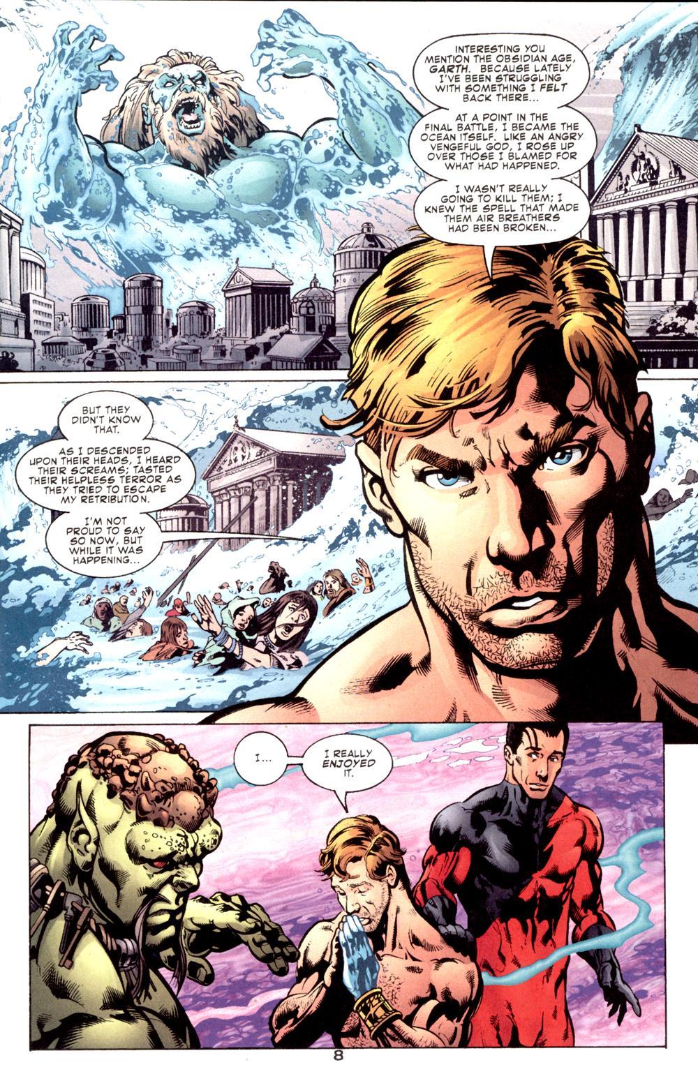 Read online Aquaman (2003) comic -  Issue #6 - 10