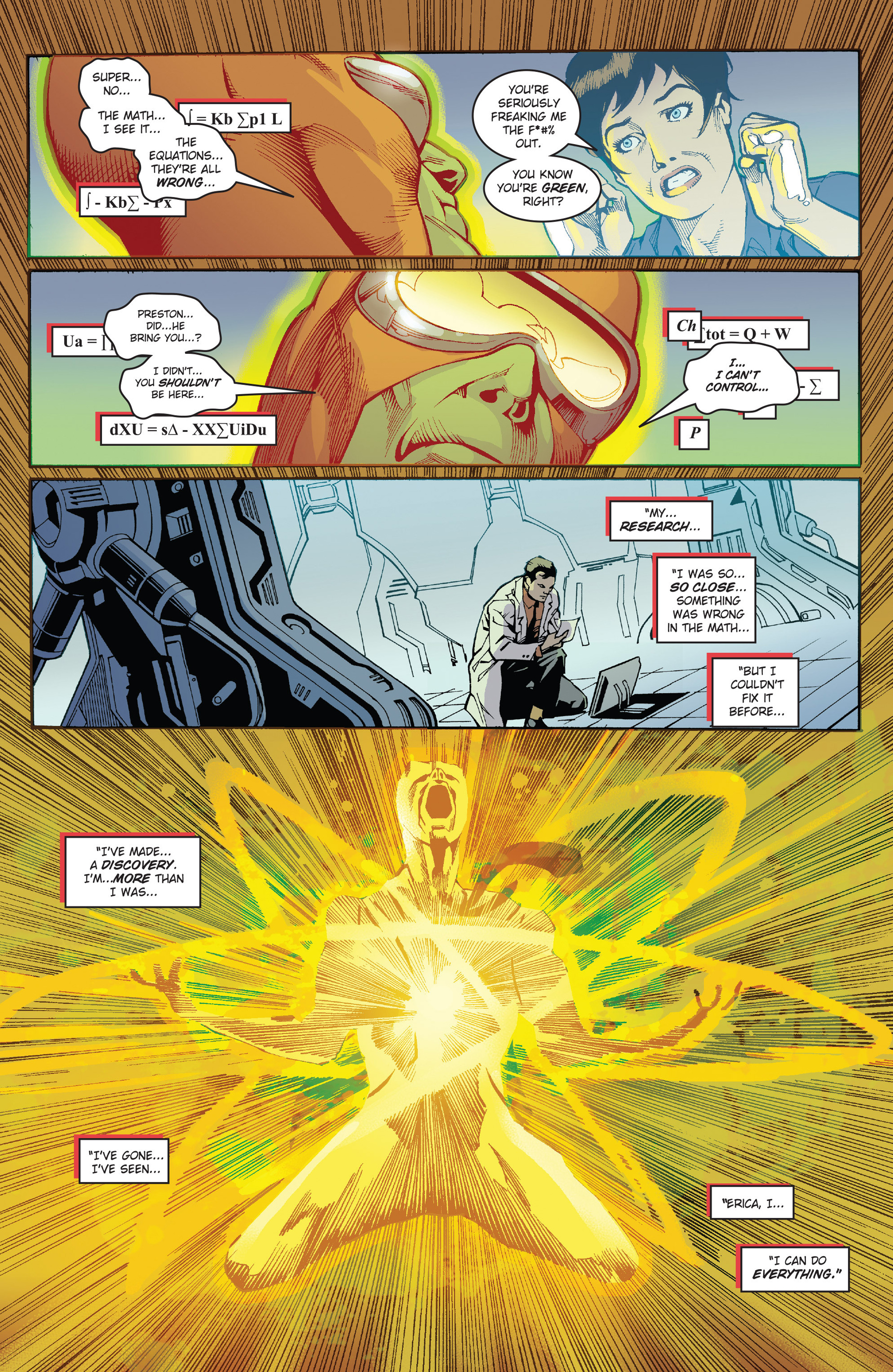 Read online Solar: Man of the Atom (2014) comic -  Issue #1 - 22