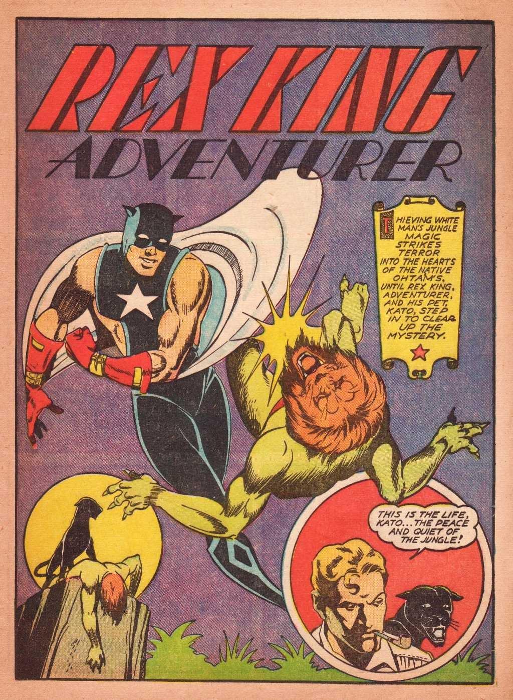 Read online Super-Magician Comics comic -  Issue #2 - 47