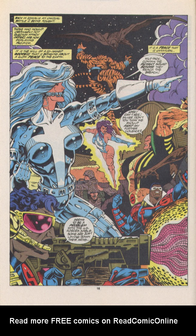 Read online Silver Sable and the Wild Pack comic -  Issue #16 - 13