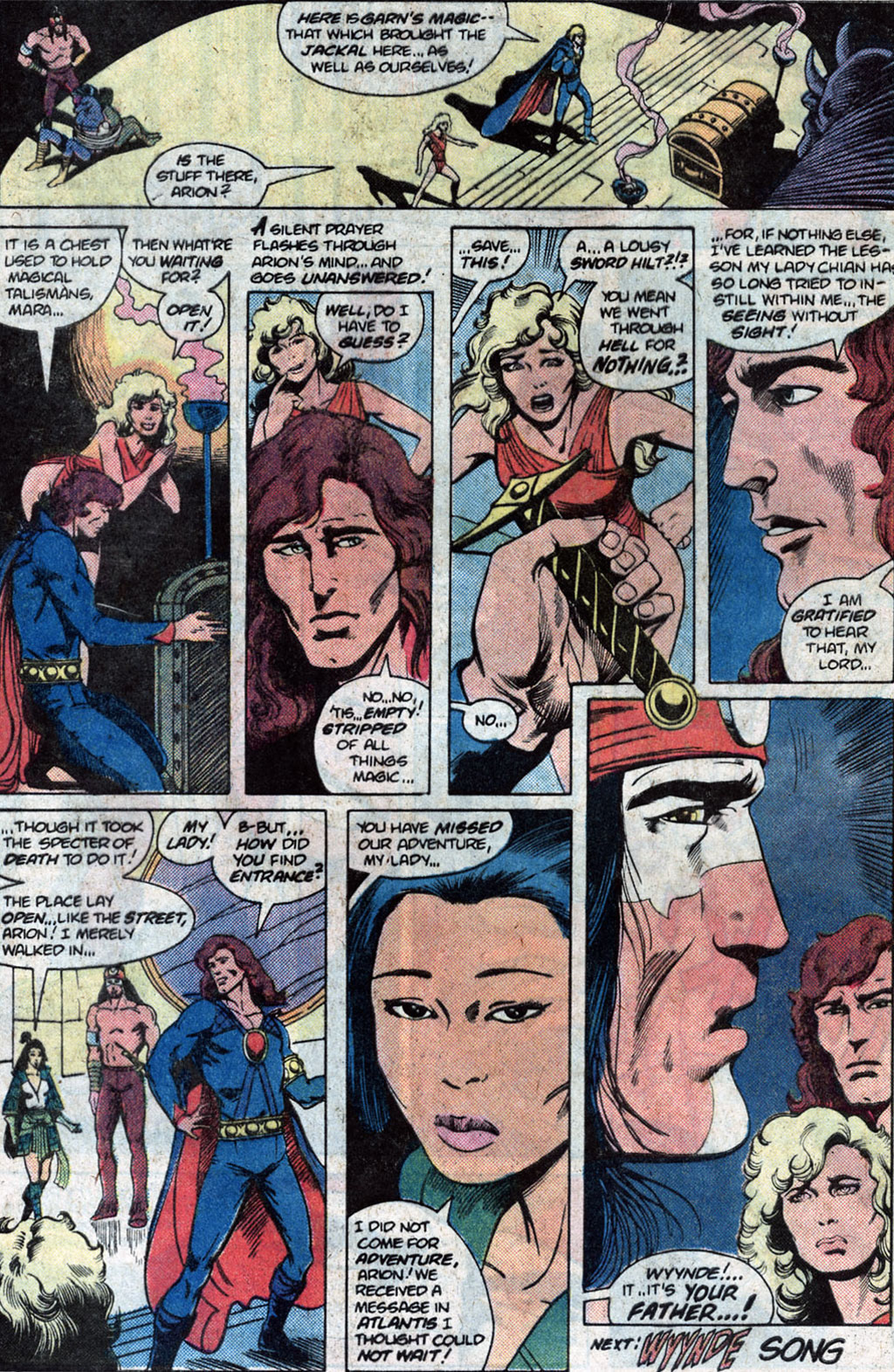 Read online Arion, Lord of Atlantis comic -  Issue #12 - 25
