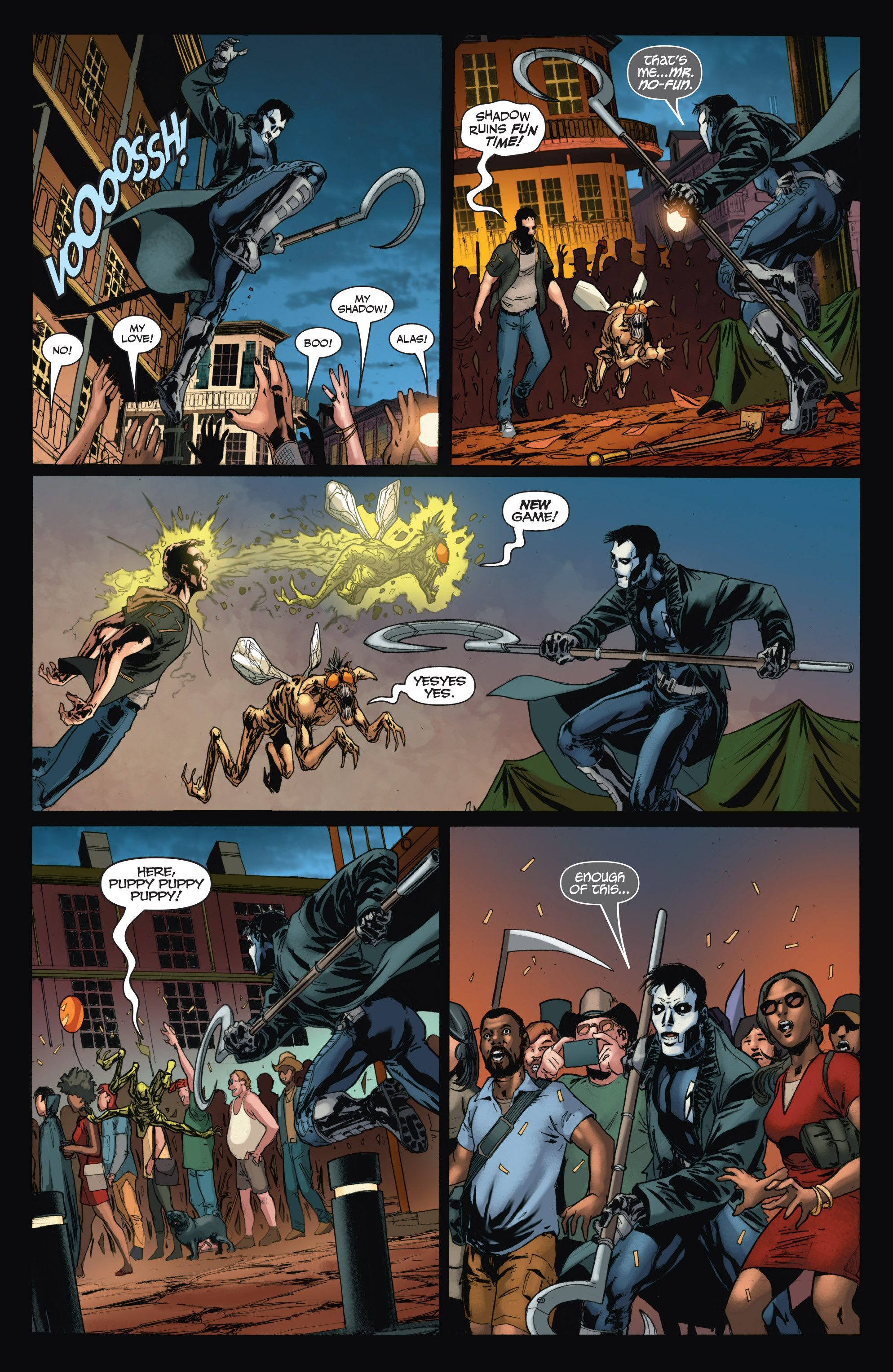 Read online Shadowman (2012) comic -  Issue #11 - 19