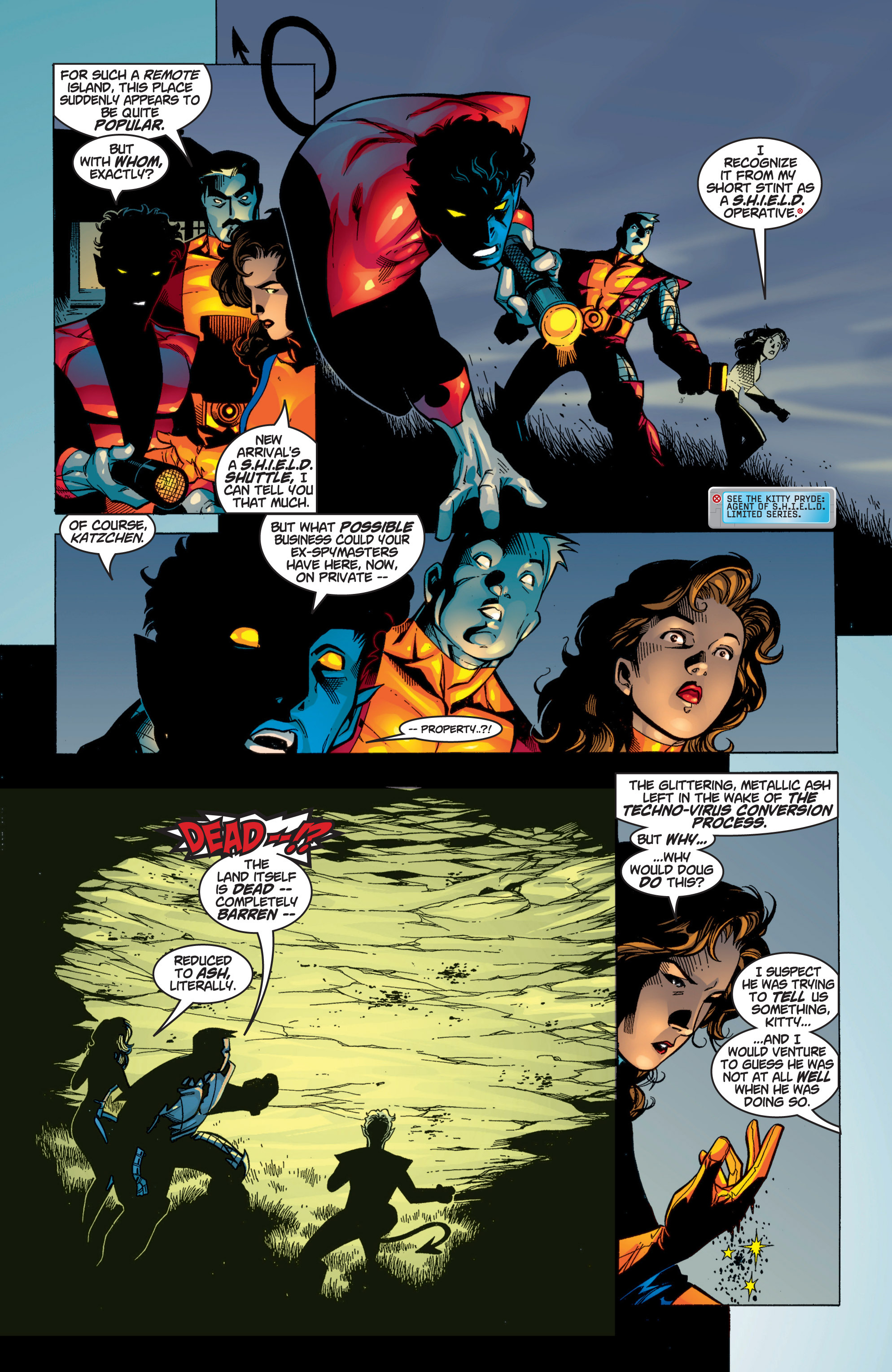 Read online Uncanny X-Men (1963) comic -  Issue #371 - 21